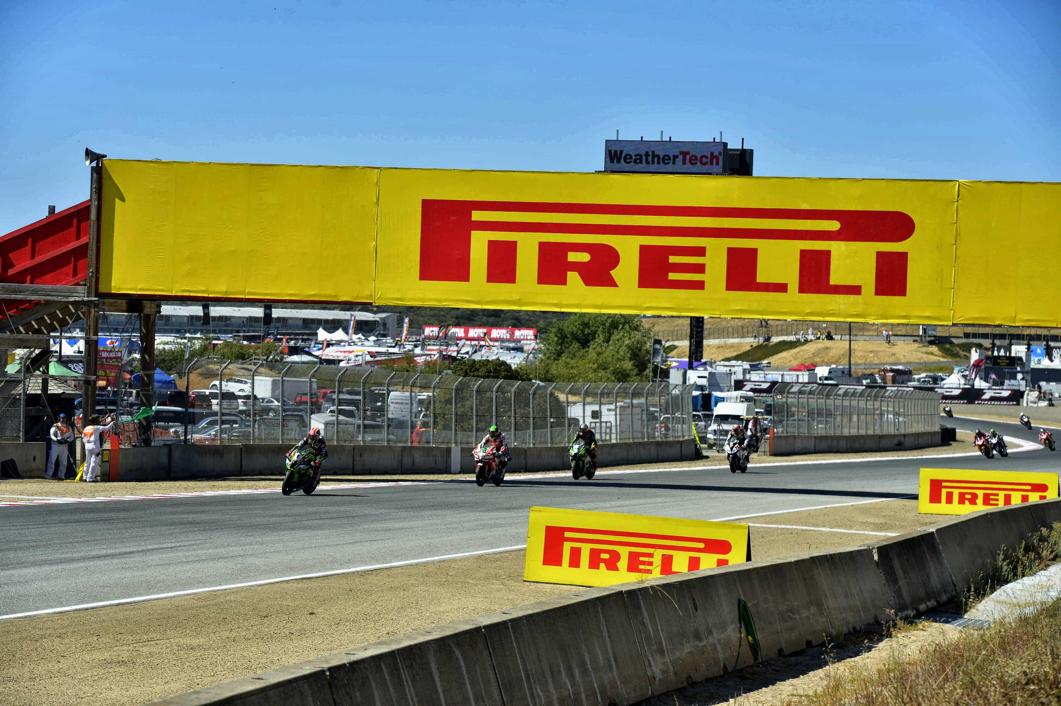 ピレリ(Pirelli) 新型のSCXタイヤとスーパーポールタイヤでWSBK第9戦の舞台 ラグナ・セカへ