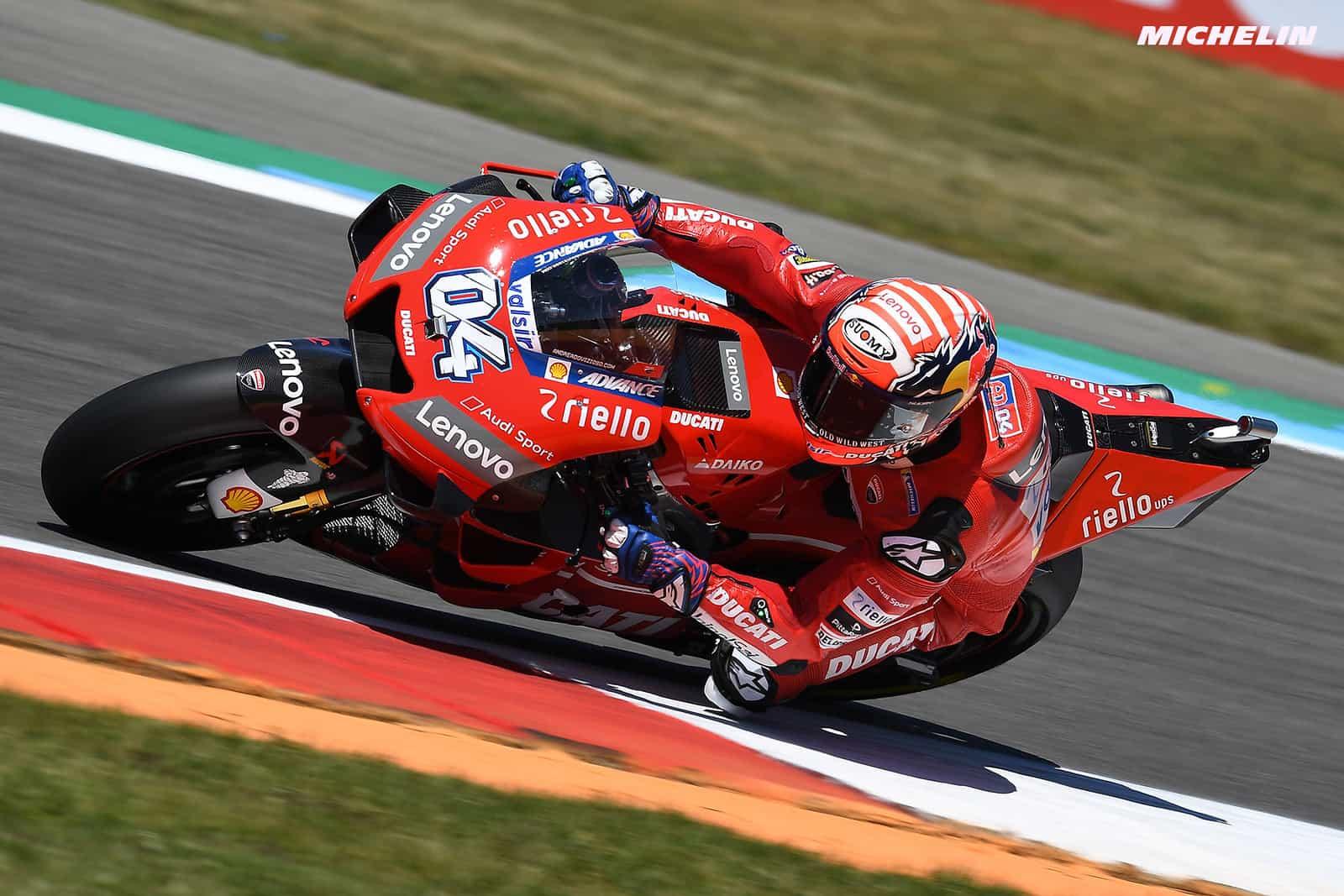 MotoGP2019ドイツGP ドヴィツィオーゾ「ここでしっかりと結果を出したい」