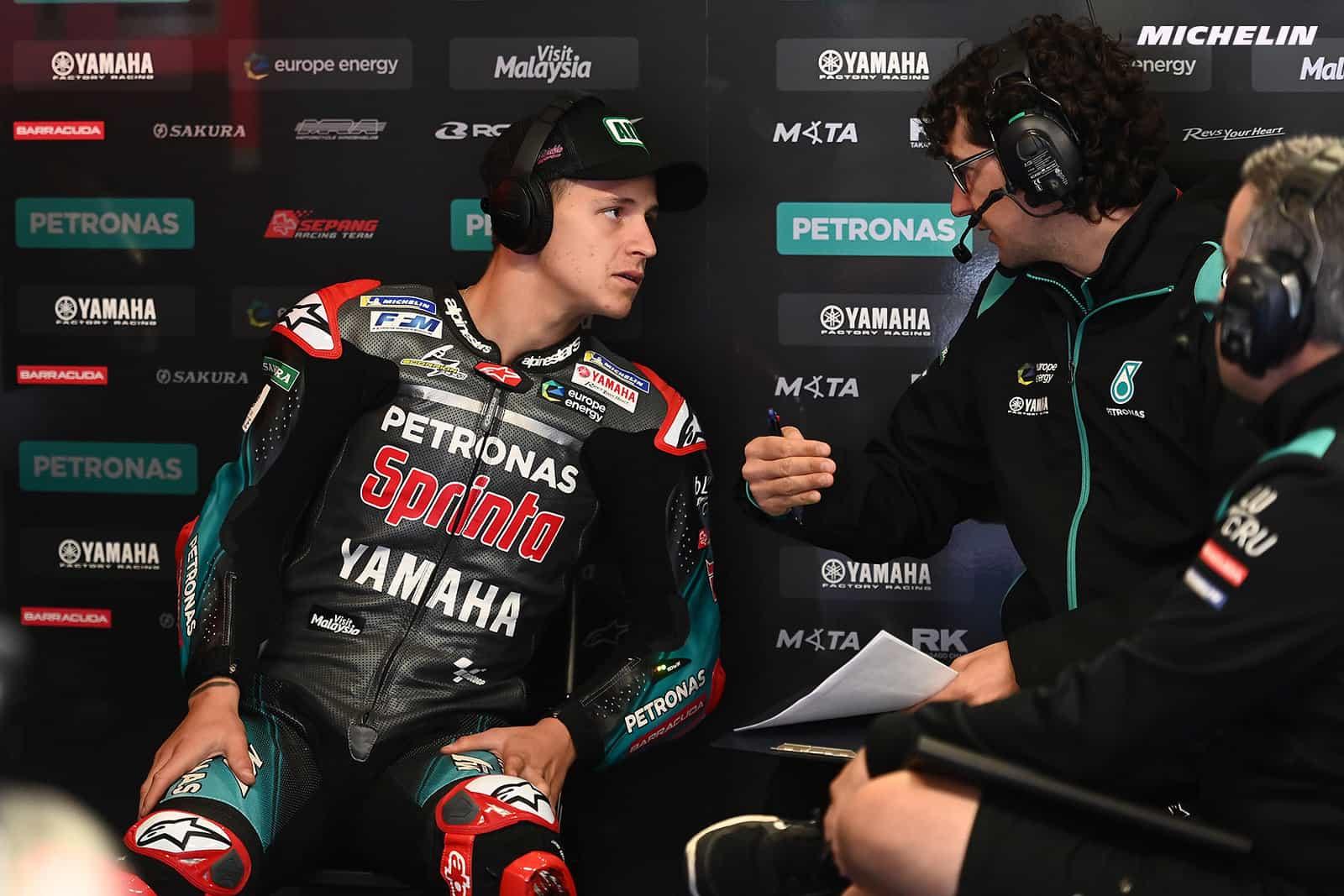 MotoGP2019ドイツGP ファビオ・クアルタラロ「左回りのトラックは右手にとってポジティブ」