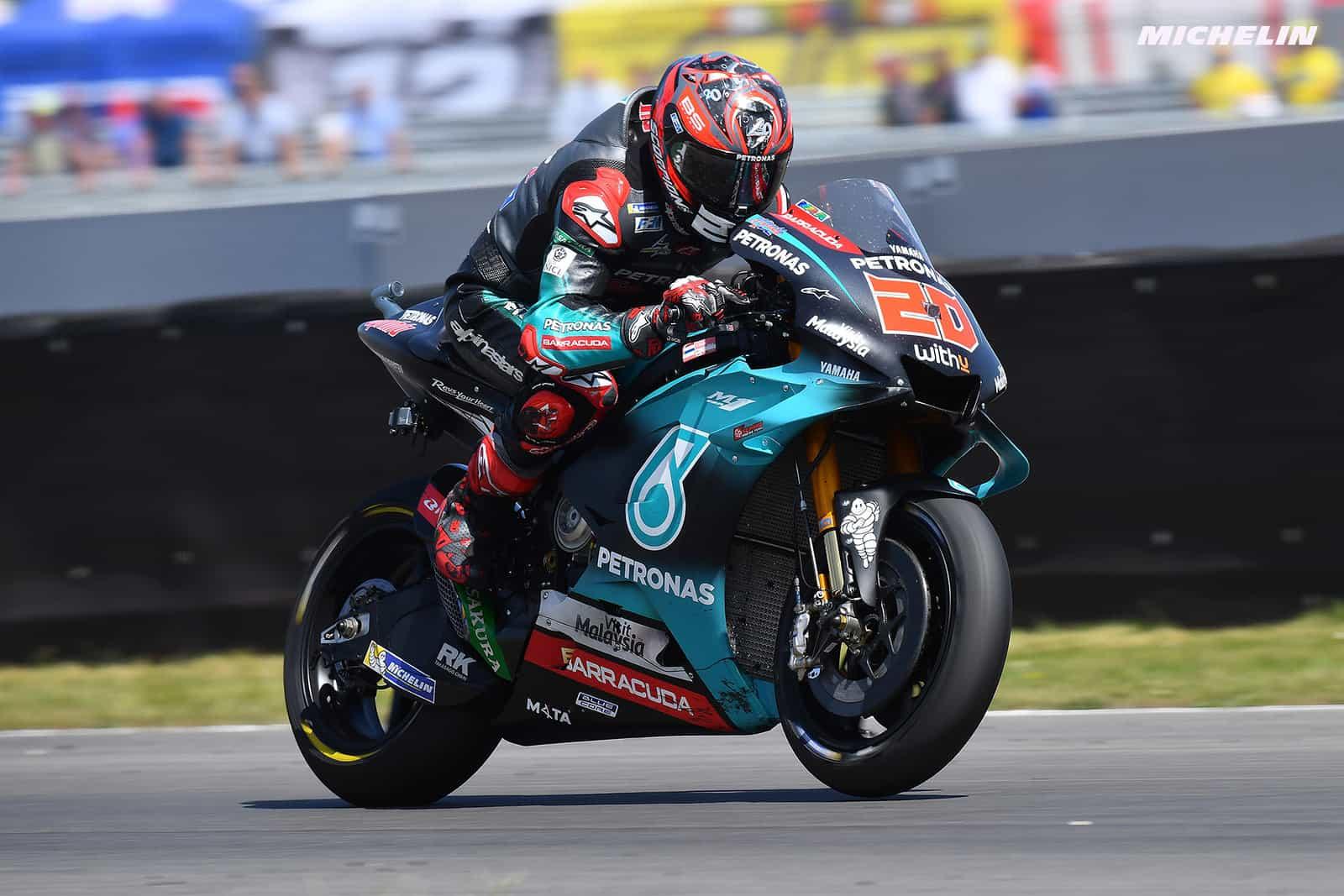 MotoGP2019オランダGP 3位クアルタラロ「参戦当初よりバイクのフィーリングがよくなっている」