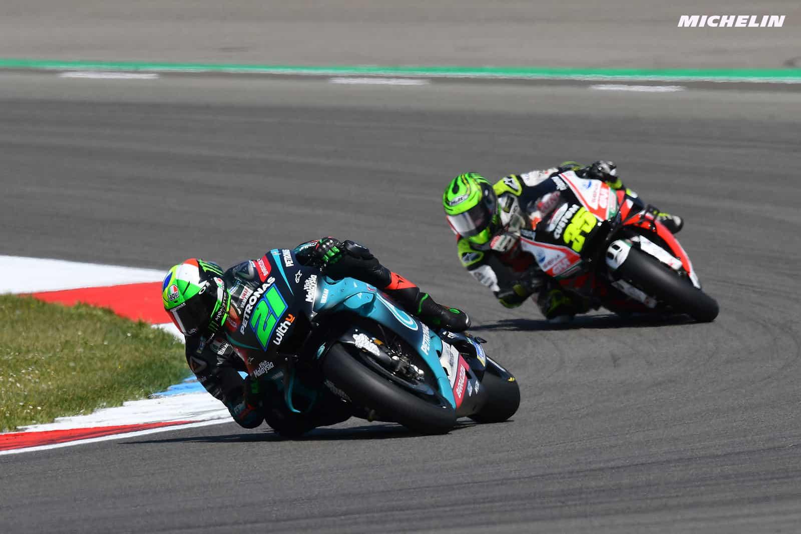 MotoGP2019オランダGP 5位モルビデッリ「ロッシが苦戦すると自分も苦戦する」