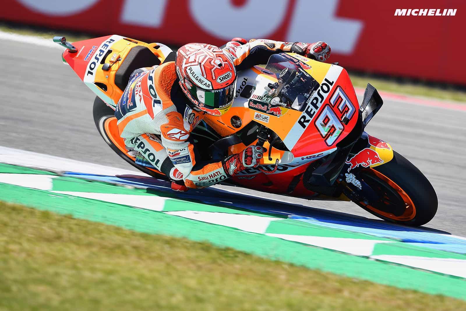 MotoGP2019オランダGP 2位マルケス「最初から優勝ではなく表彰台狙いだった」