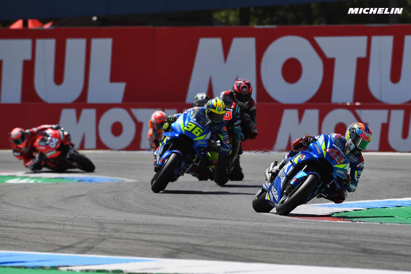 MotoGP2019オランダGP リンス「ブレーキングでフロントがロックしてしまった」