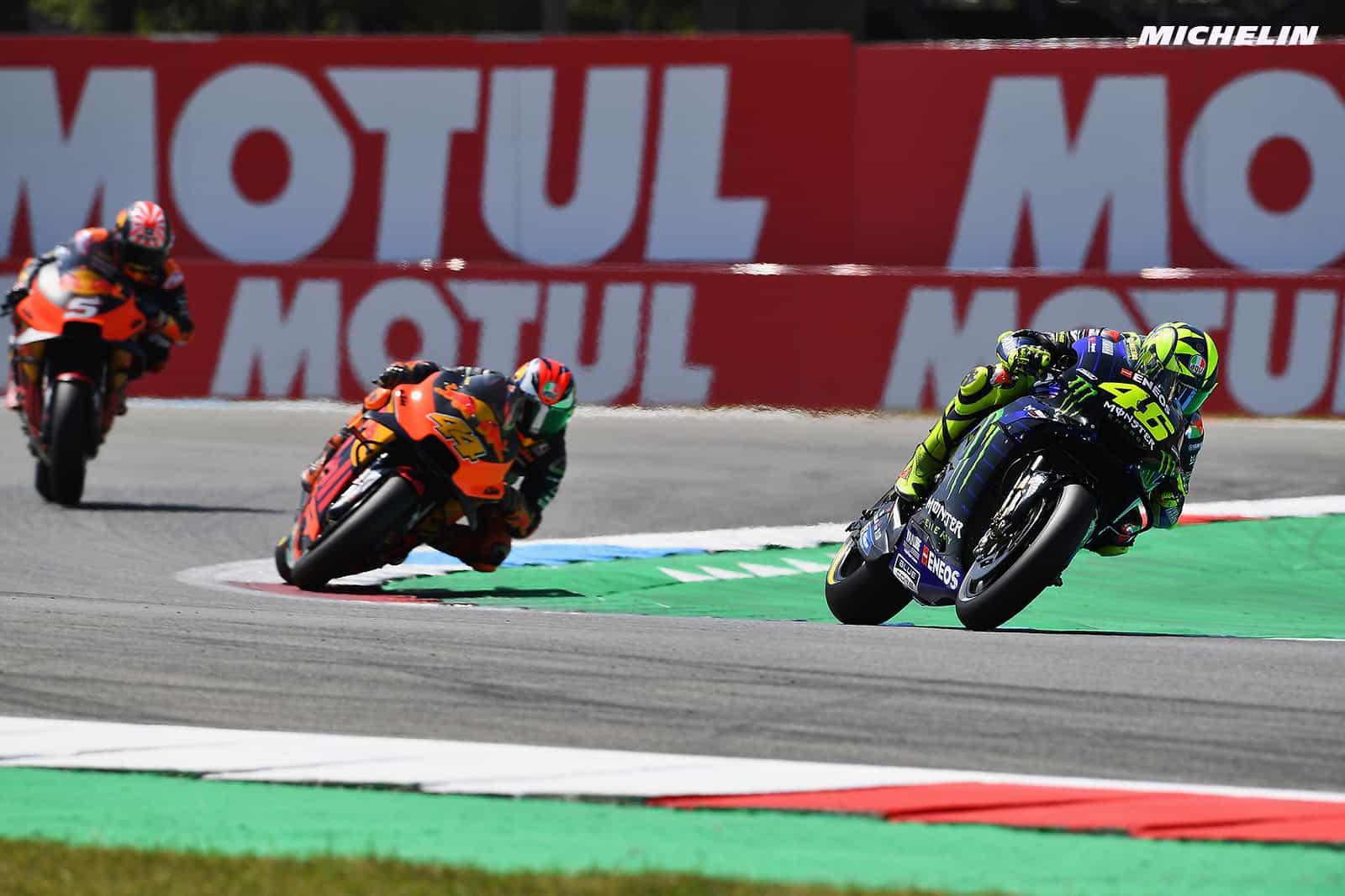 MotoGP2019オランダGP ロッシ「良いフィーリングだっただけに残念、中上には申し訳ない」