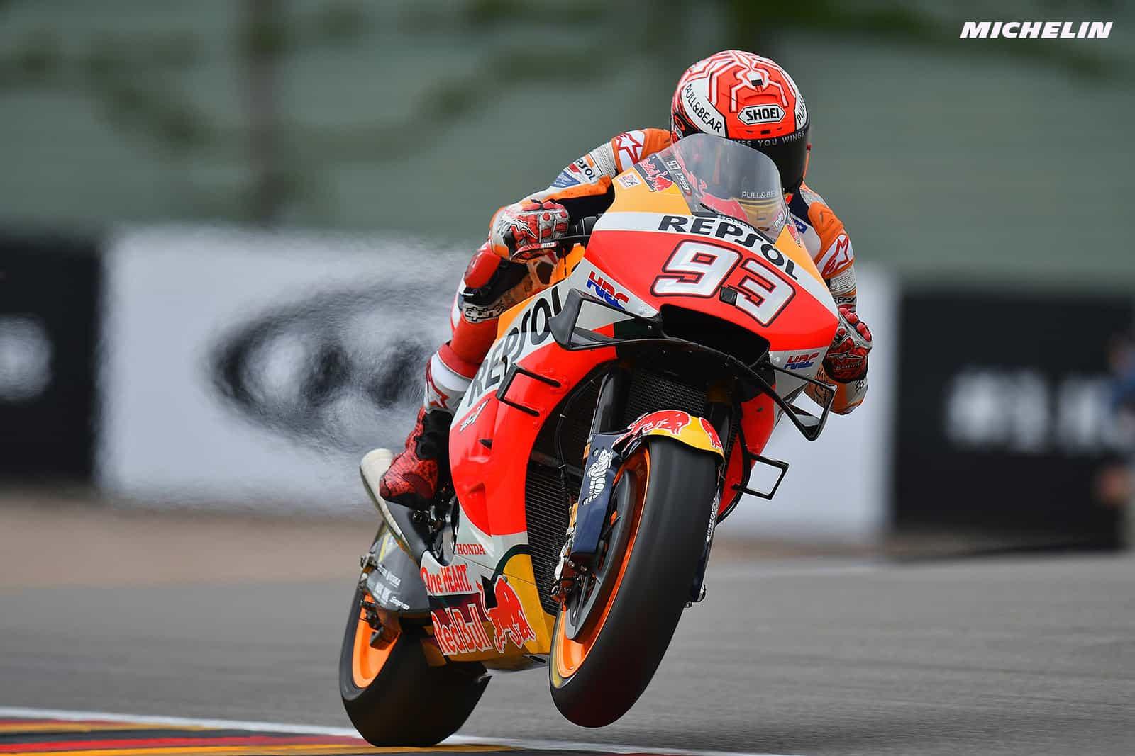 MotoGP2019ドイツGP FP2 1位マルケス「フィーリングも良くて最高のスタート」