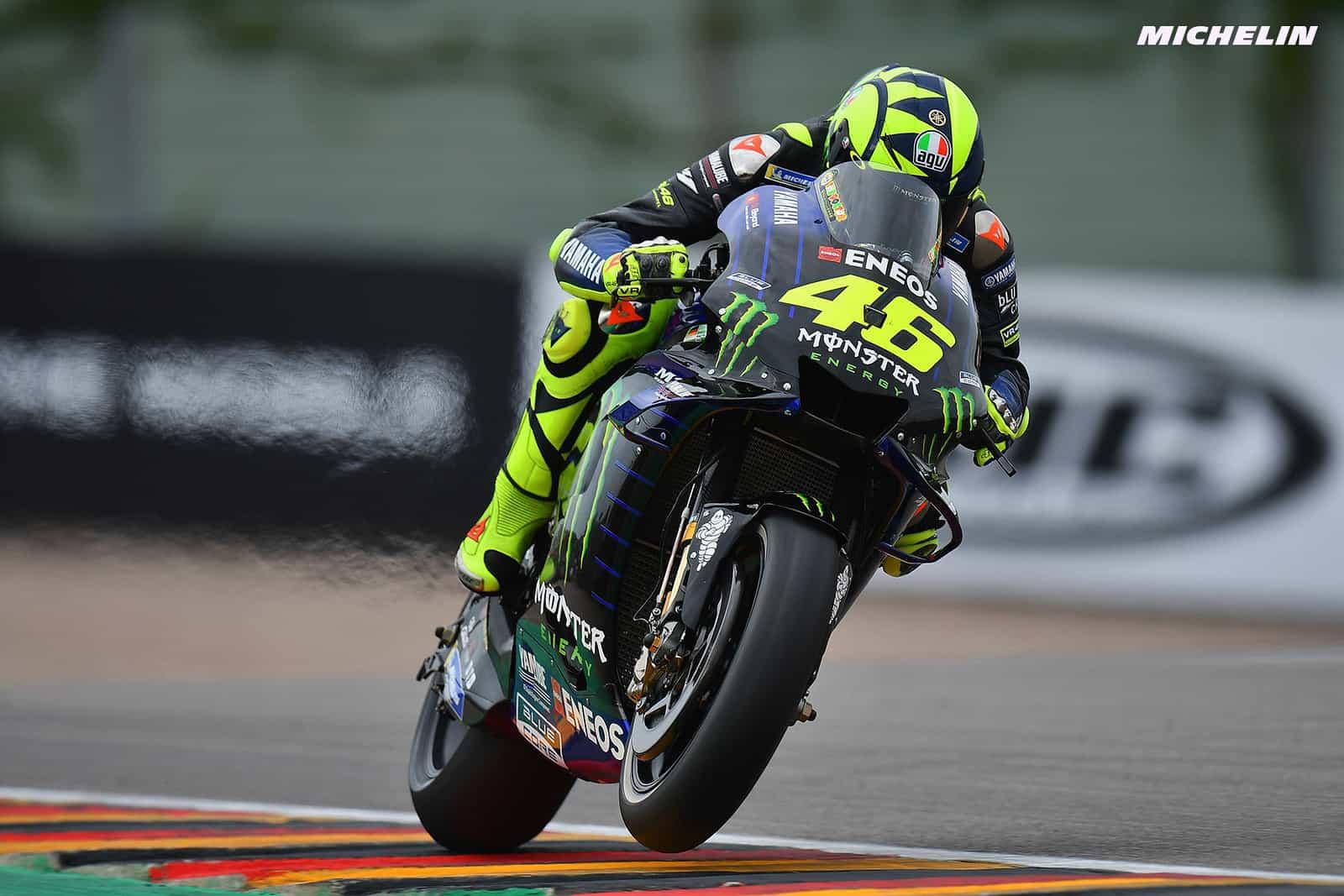 MotoGP2019ドイツGP FP2 10位ロッシ「バイクのフィーリングとペースは良い」