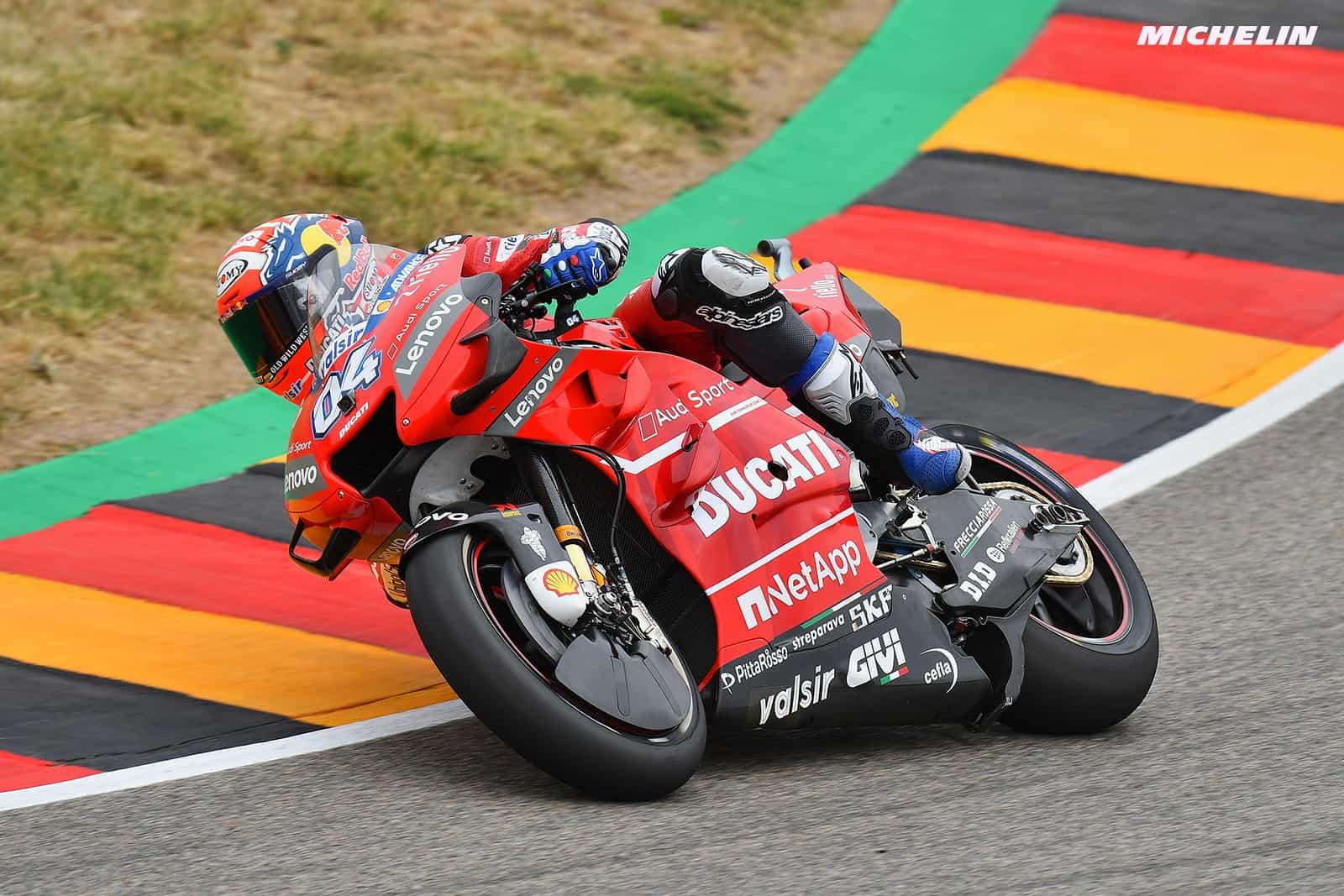 MotoGP2019ドイツGP FP2 9位ドヴィツィオーゾ「バイクを改善する時間は十分ある」