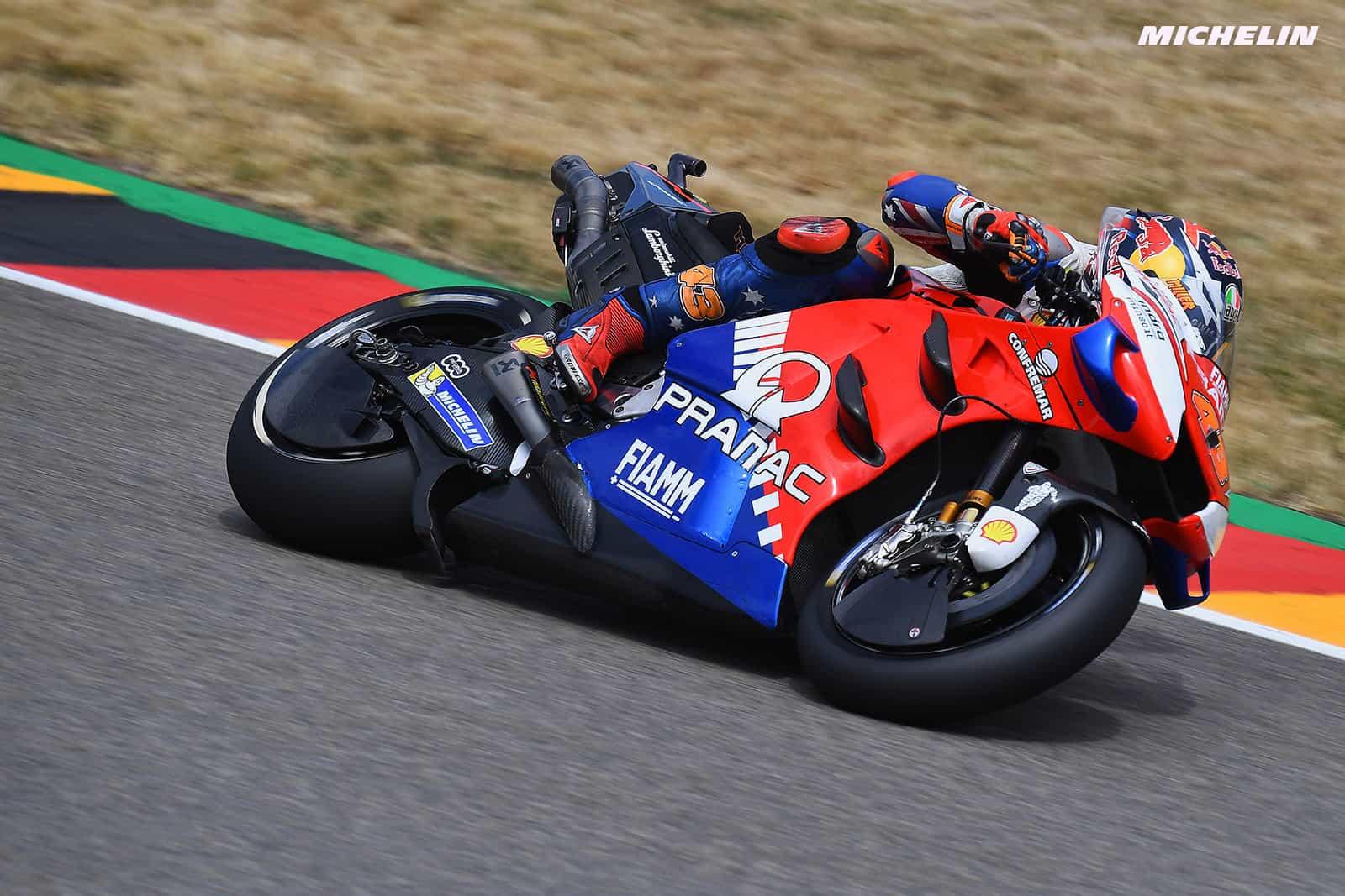 MotoGP2019ドイツGP 予選5位ミラー「フロントタイヤがもう限界だった」