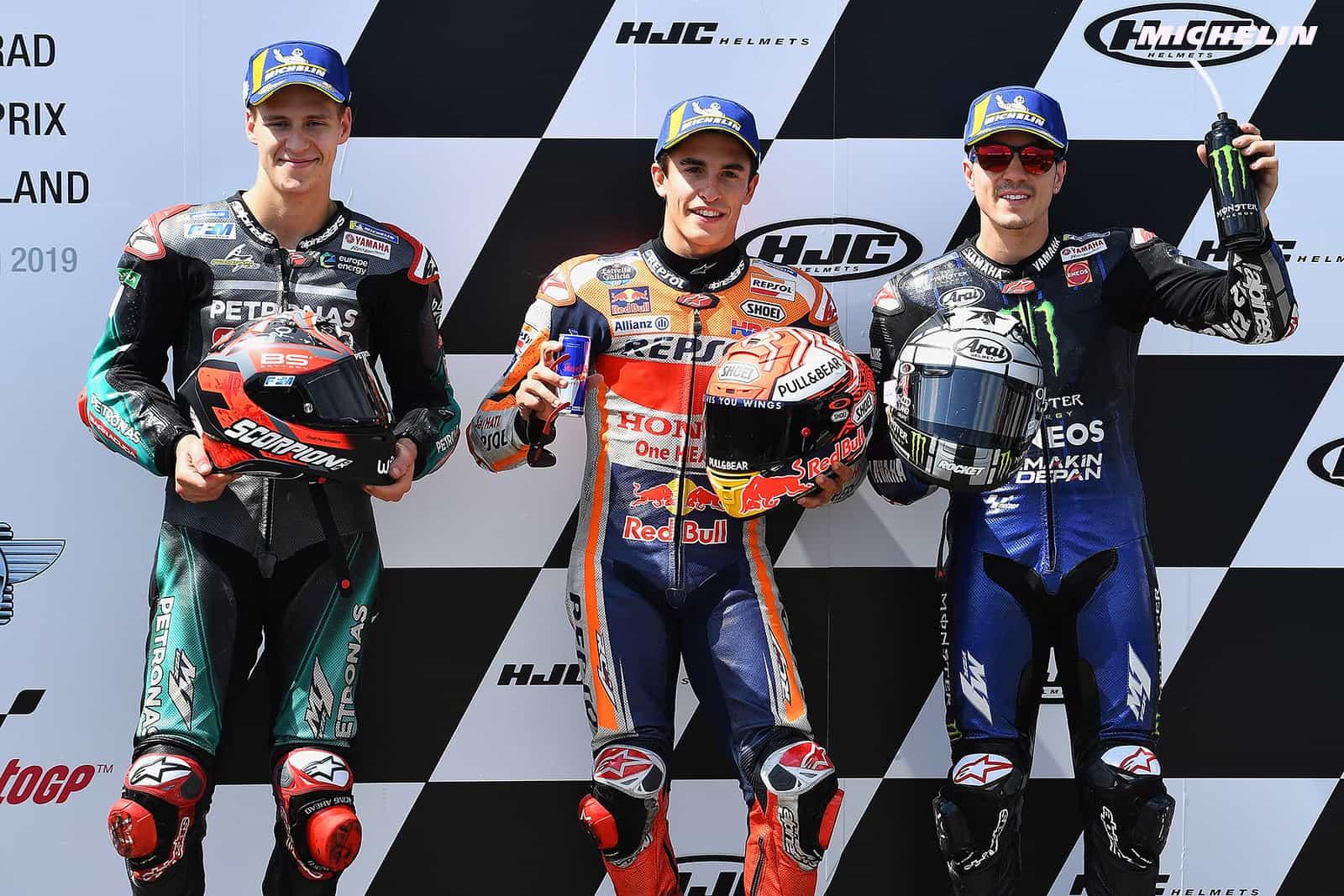 MotoGP2019ドイツGP 予選ポールポジション マルケス「新型シャーシはレースでは使用しない」