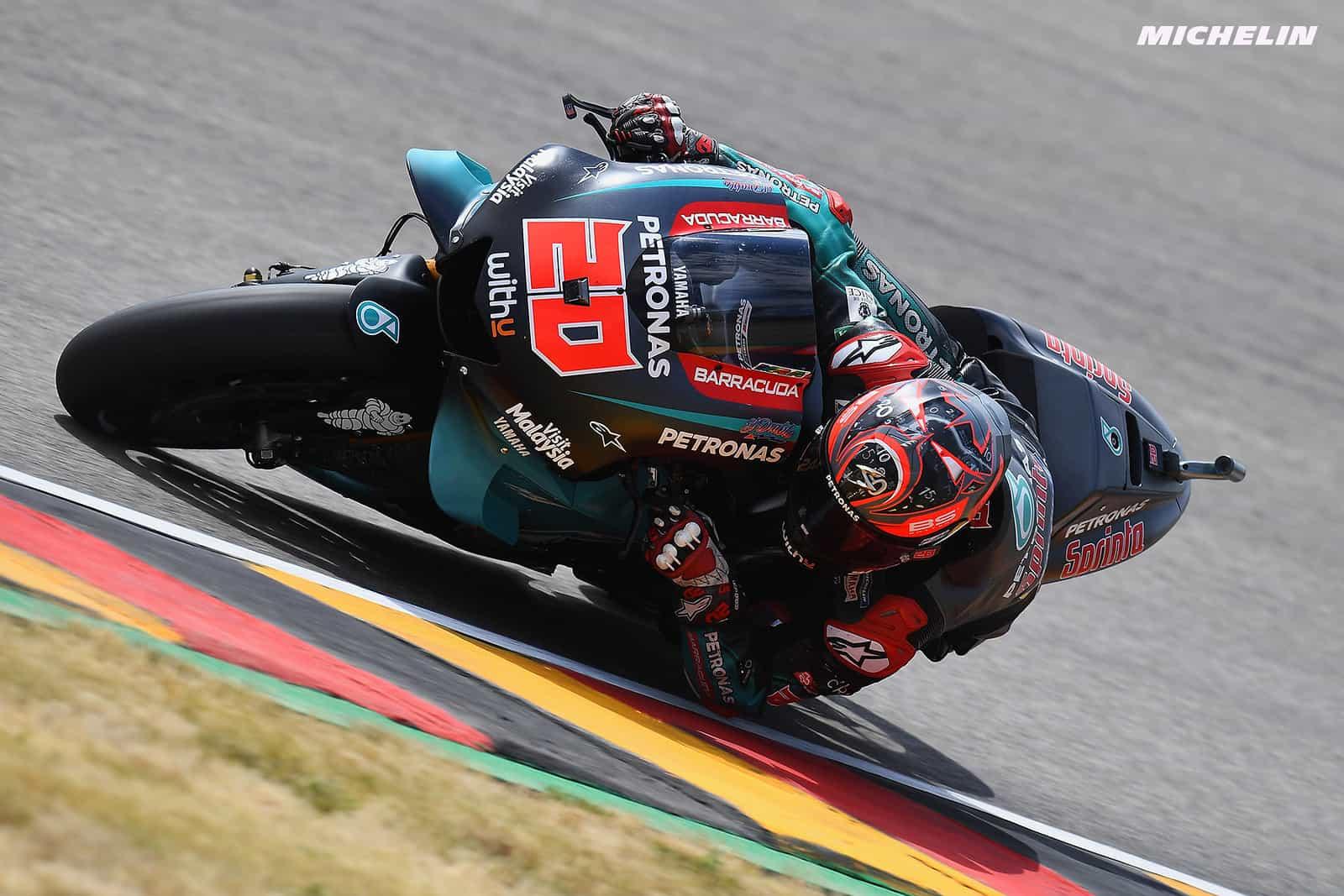 MotoGP2019ドイツGP クアルタラロ「このミスから学び、強くなって戻ってくる」