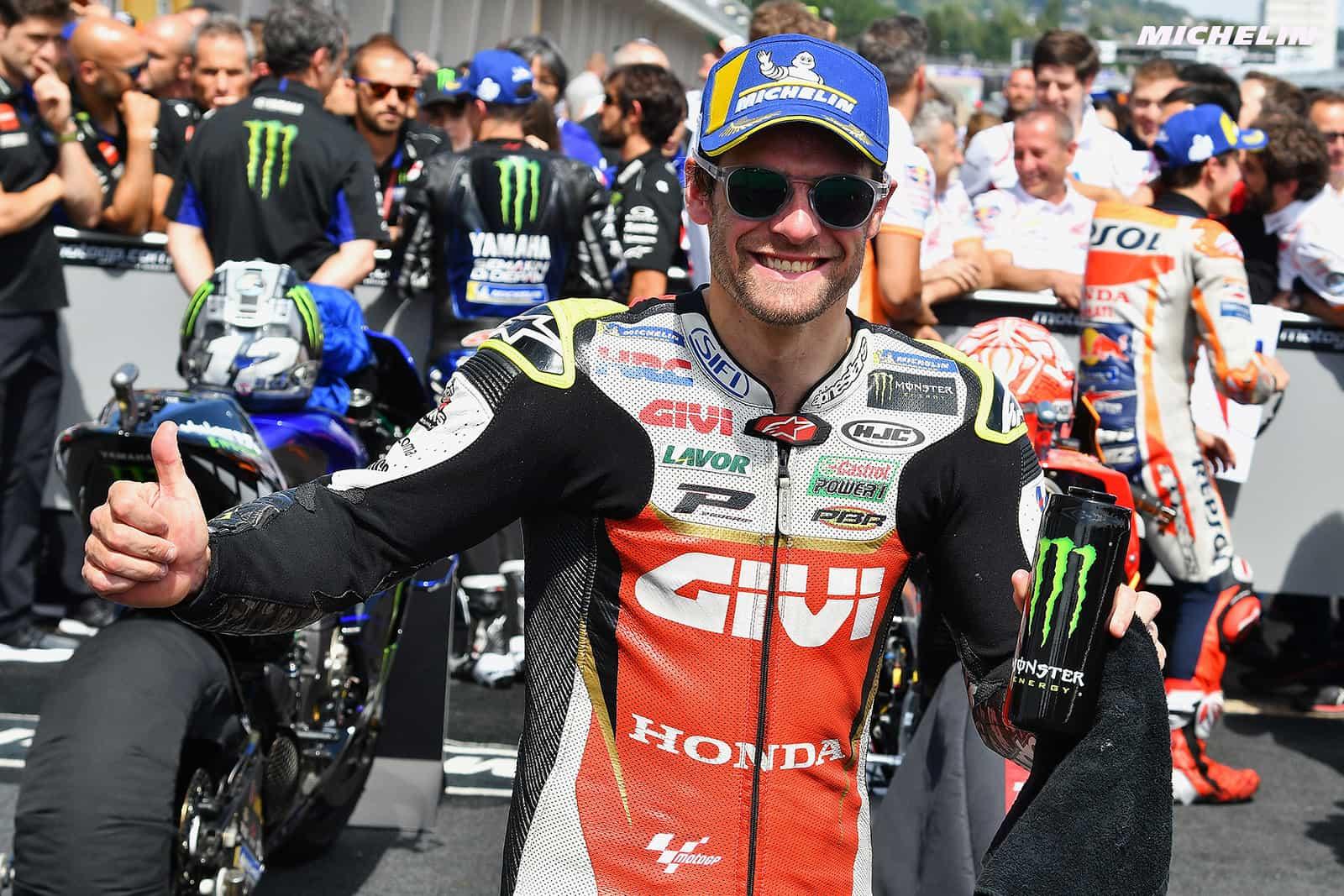 MotoGP2019ドイツGP 3位クラッチロー「怪我はレースに支障なかった」