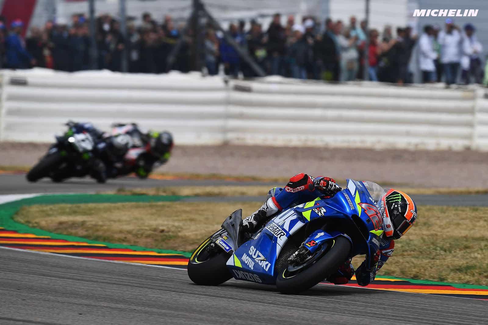MotoGP2019ドイツGP リンス「数キロ進入速度が速く、転倒してしまった」