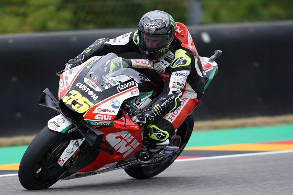 MotoGP2019ドイツGP FP2 6位クラッチロー「怪我は思ったほど酷くない」