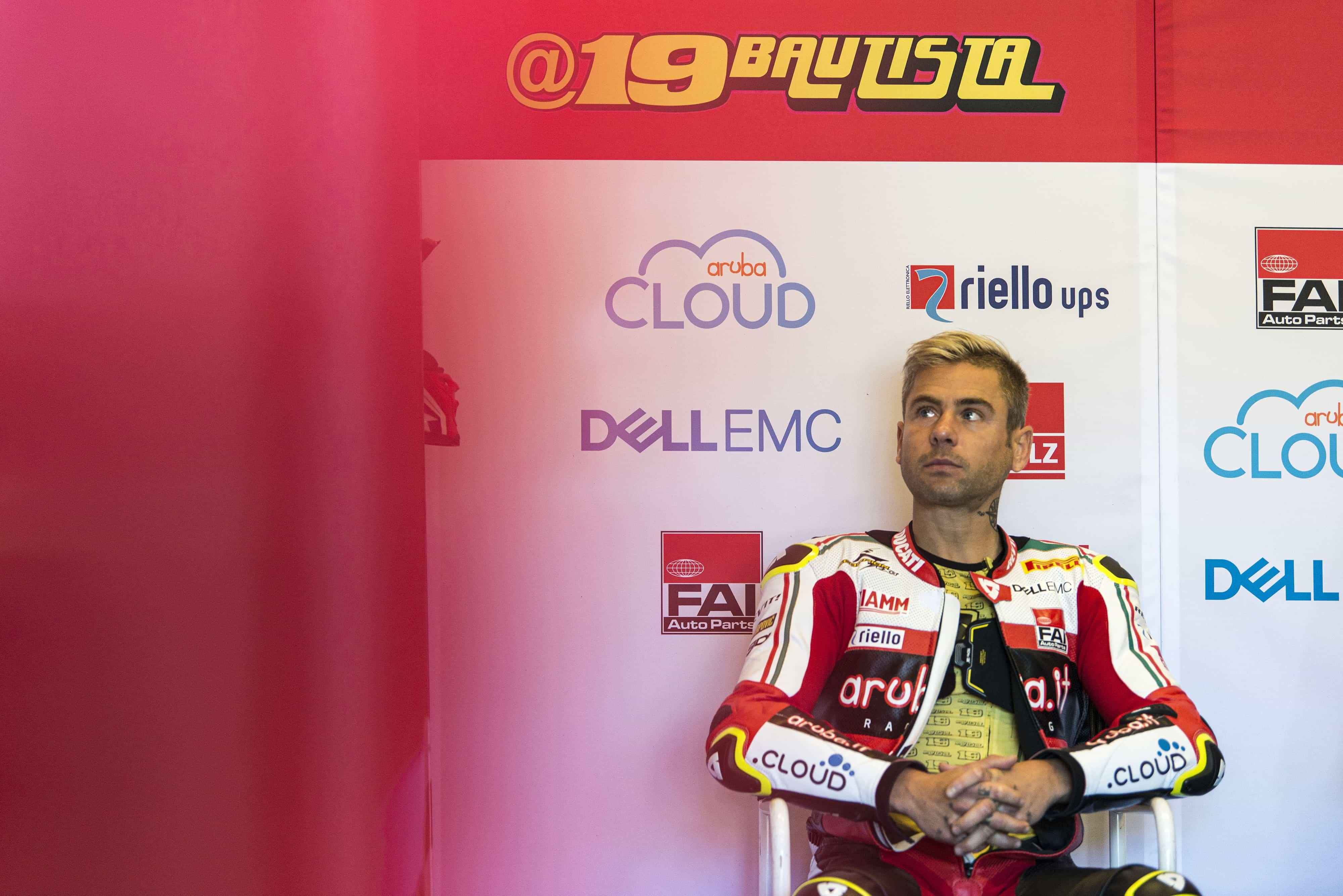 SBK第9戦ラグナ・セカ レース1DNF バウティスタ「優勝出来るチャンスもあったのに最悪の気分」