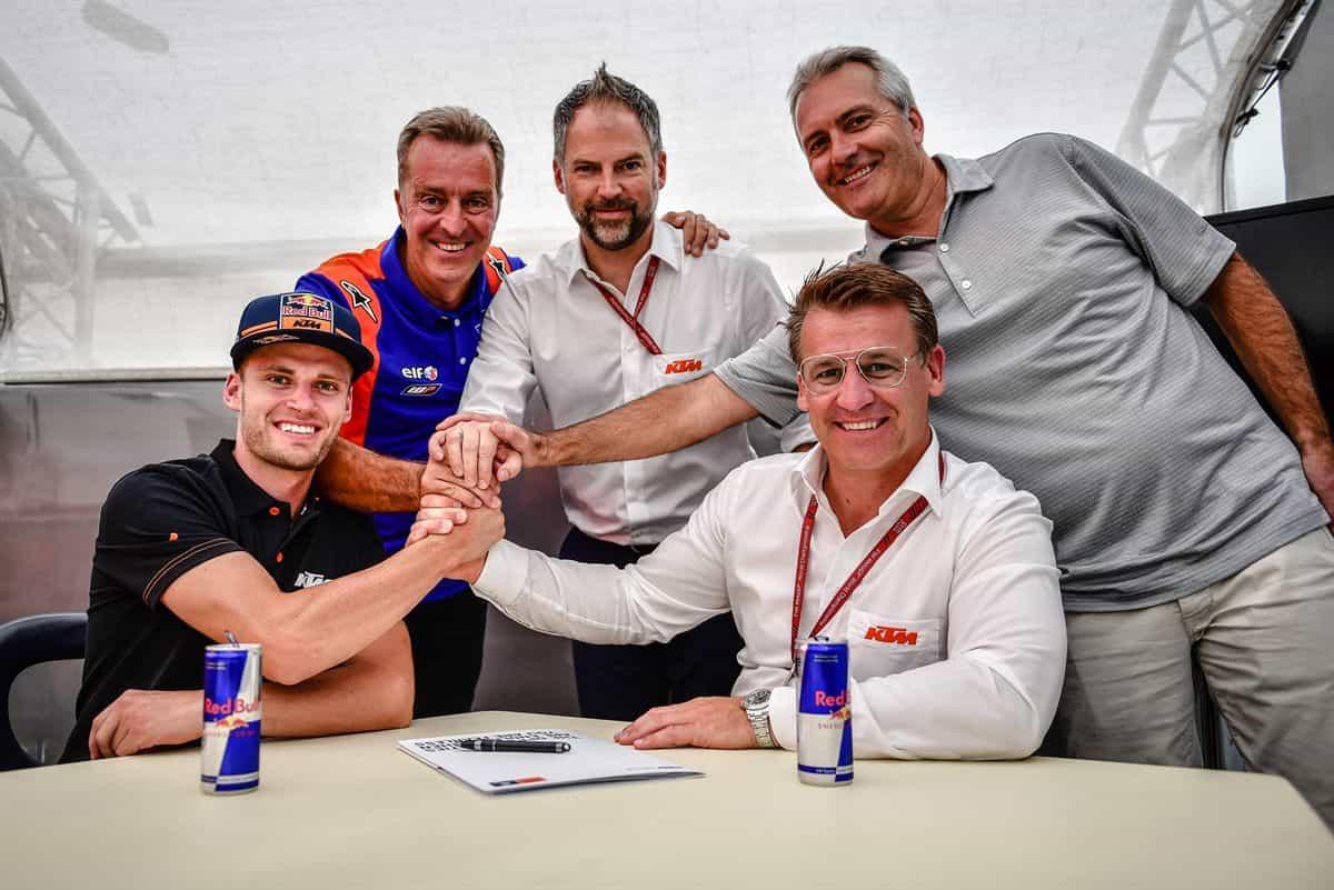 MotoGP2019 ブラッド・ビンダー Red Bull KTM Tech3で2020年にMotoGPデビュー