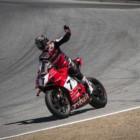 SBK第9戦ラグナ・セカ レース1 2位デイビス「序盤は良かったが後半厳しいレースだった」