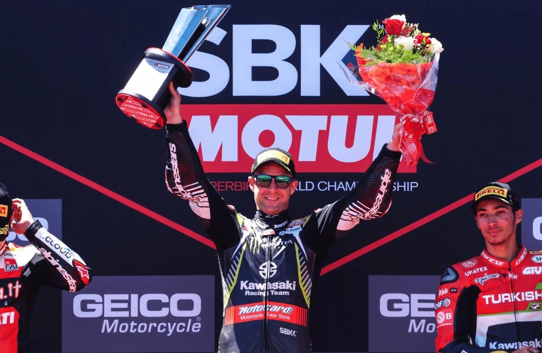 SBK第9戦ラグナ・セカ レース1優勝レイ「とにかくミスをしないよう気をつけていた」