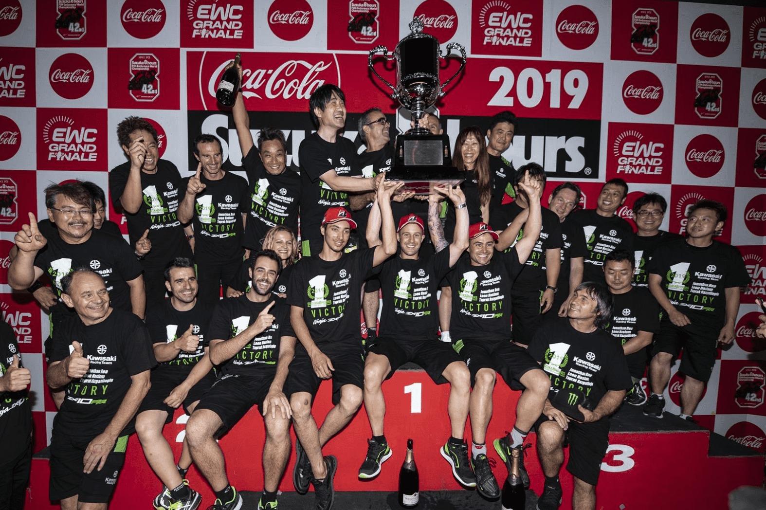 鈴鹿8耐優勝 ジョナサン・レイ「また鈴鹿8耐に戻ってきたい」