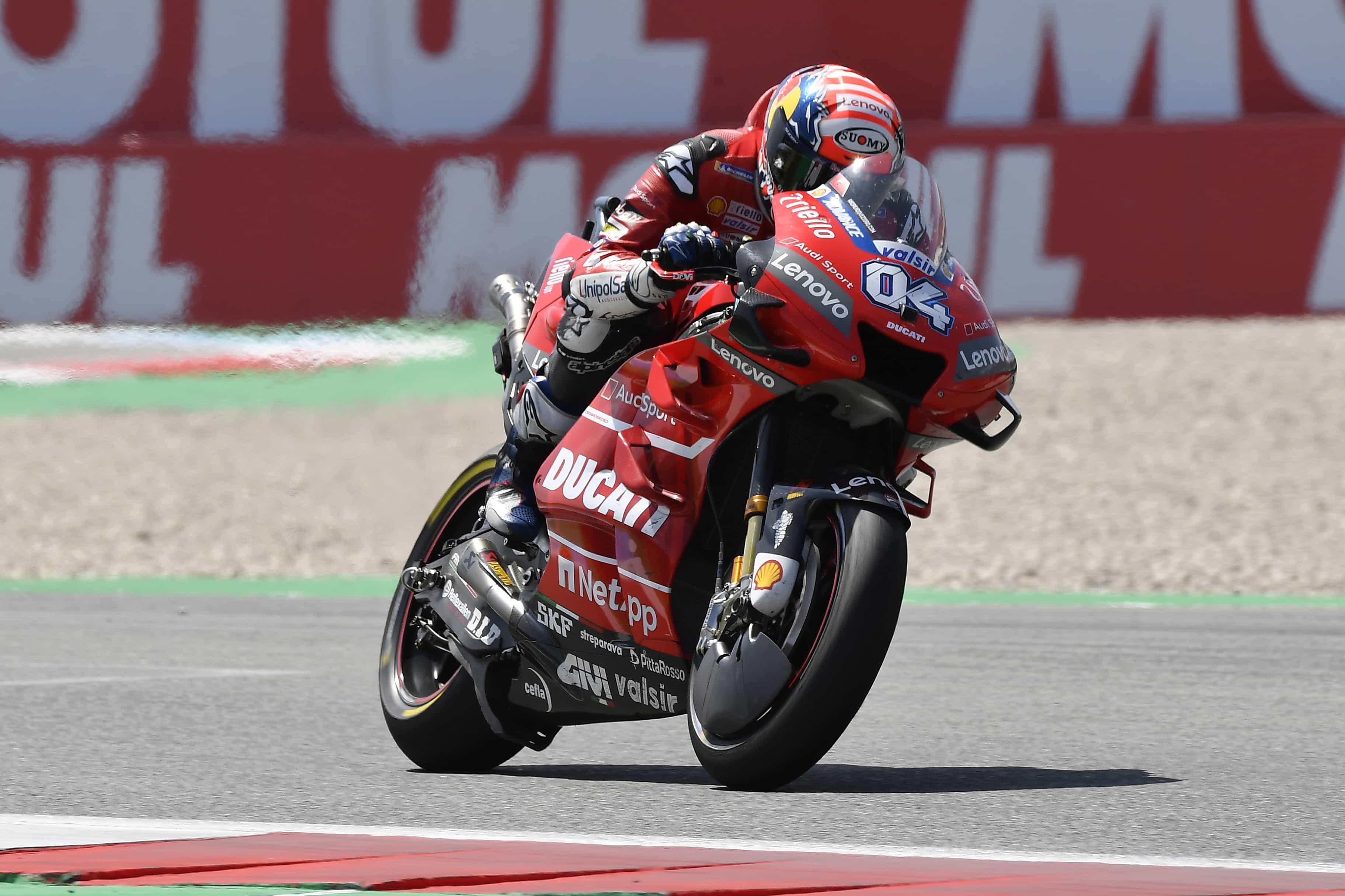 MotoGP第8戦のオランダGPでドヴィツィオーゾは4位、ペトルッチは6位フィニッシュ