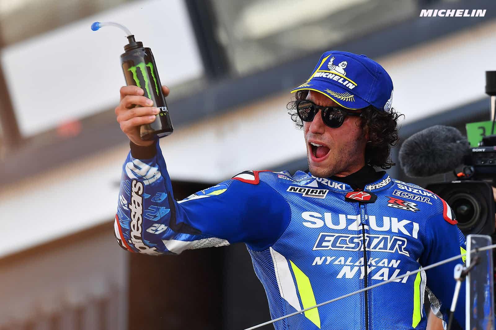 MotoGP2019イギリスGP 優勝リンス「マルクの前で走って弱点を見せたくなかった」