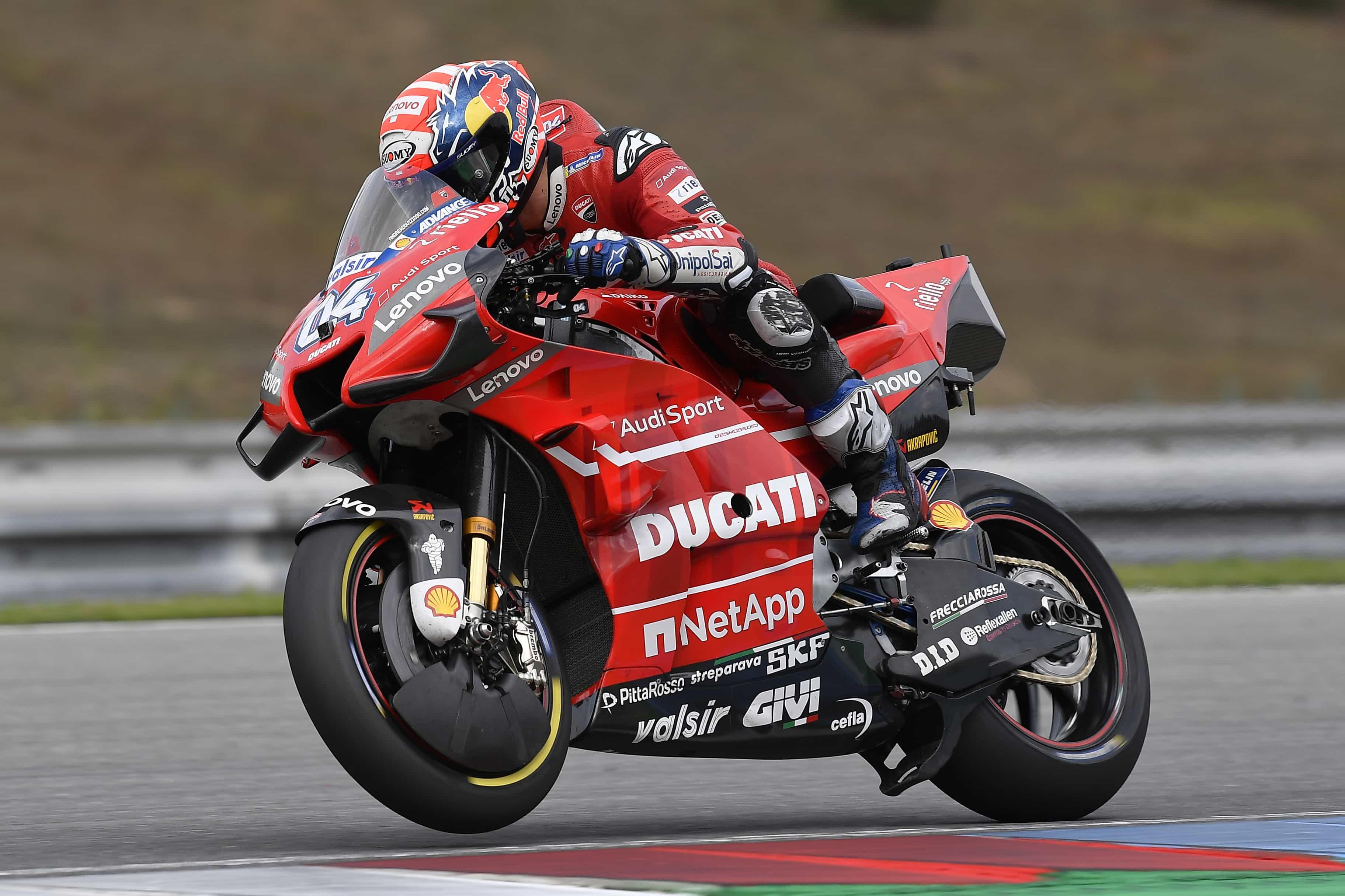 MotoGP2019ブルノテスト ドヴィツィオーゾ「しっかり新旧フェアリングの比較が出来た」