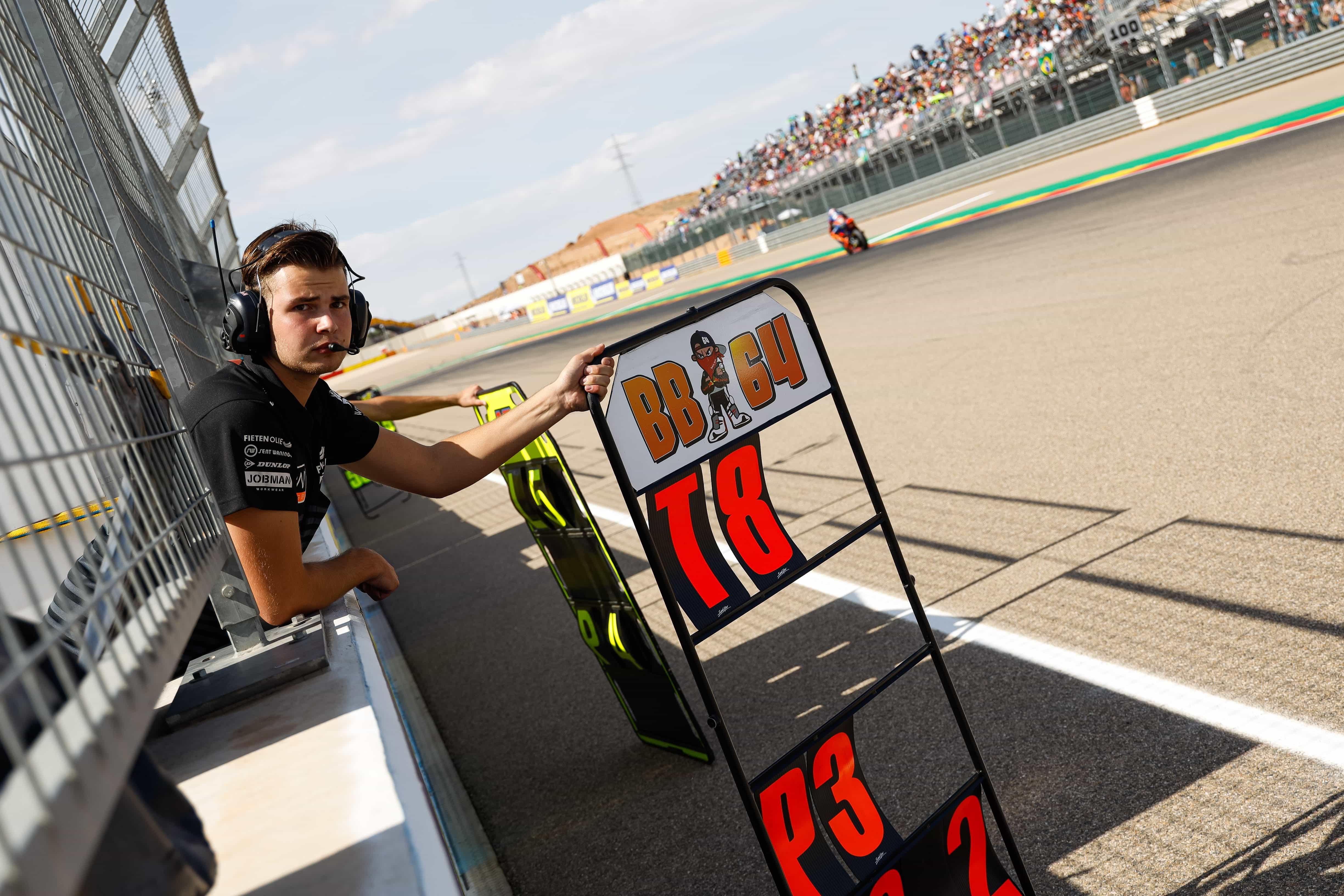 NTS RW Racing GP アラゴンGP 公式練習1、公式練習2レポート