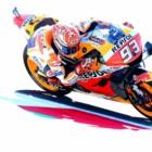 MotoGP2019サンマリノGP 予選5位マルケス「2列目スタートは最悪とは言えない」