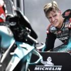 MotoGP2019アラゴンGP ファビオ・クアルタラロ「マルケスとバトルをして、いつか勝ちたい」