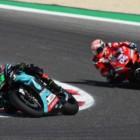 MotoGP2019サンマリノGP 5位モルビデッリ「トラック温度上昇でスローダウンせざるを得なかった」