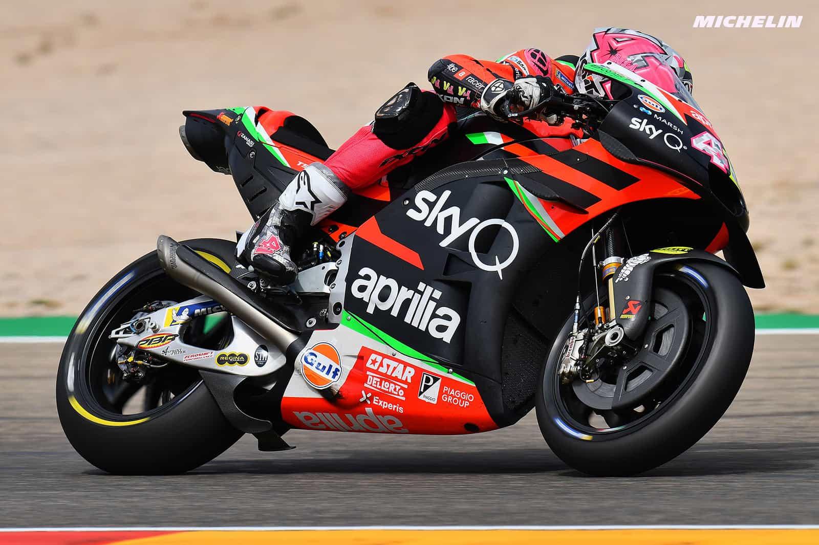 MotoGP2019アラゴンGP 7位アレイシ・エスパルガロ「今回はトラックの性格に助けられた」
