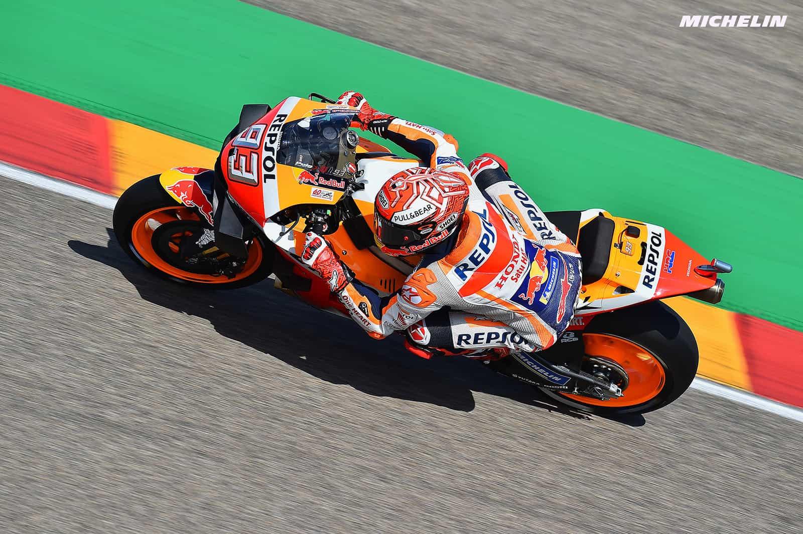 MotoGP2019タイGP マルケス「シーズン残り全てで表彰台を獲得することが目標」