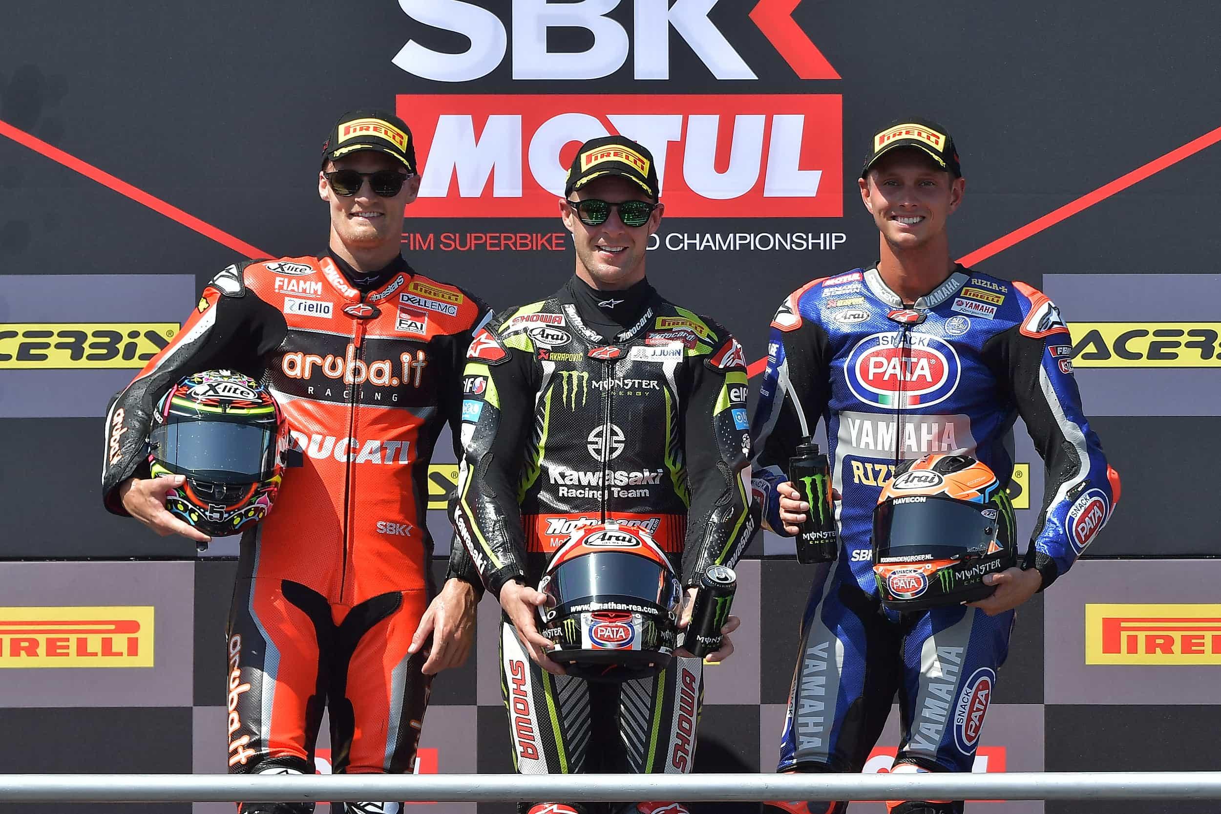 ピレリ(Pirelli) スタンダードソリューションを使用してレース1でジョナサン・レイが優勝