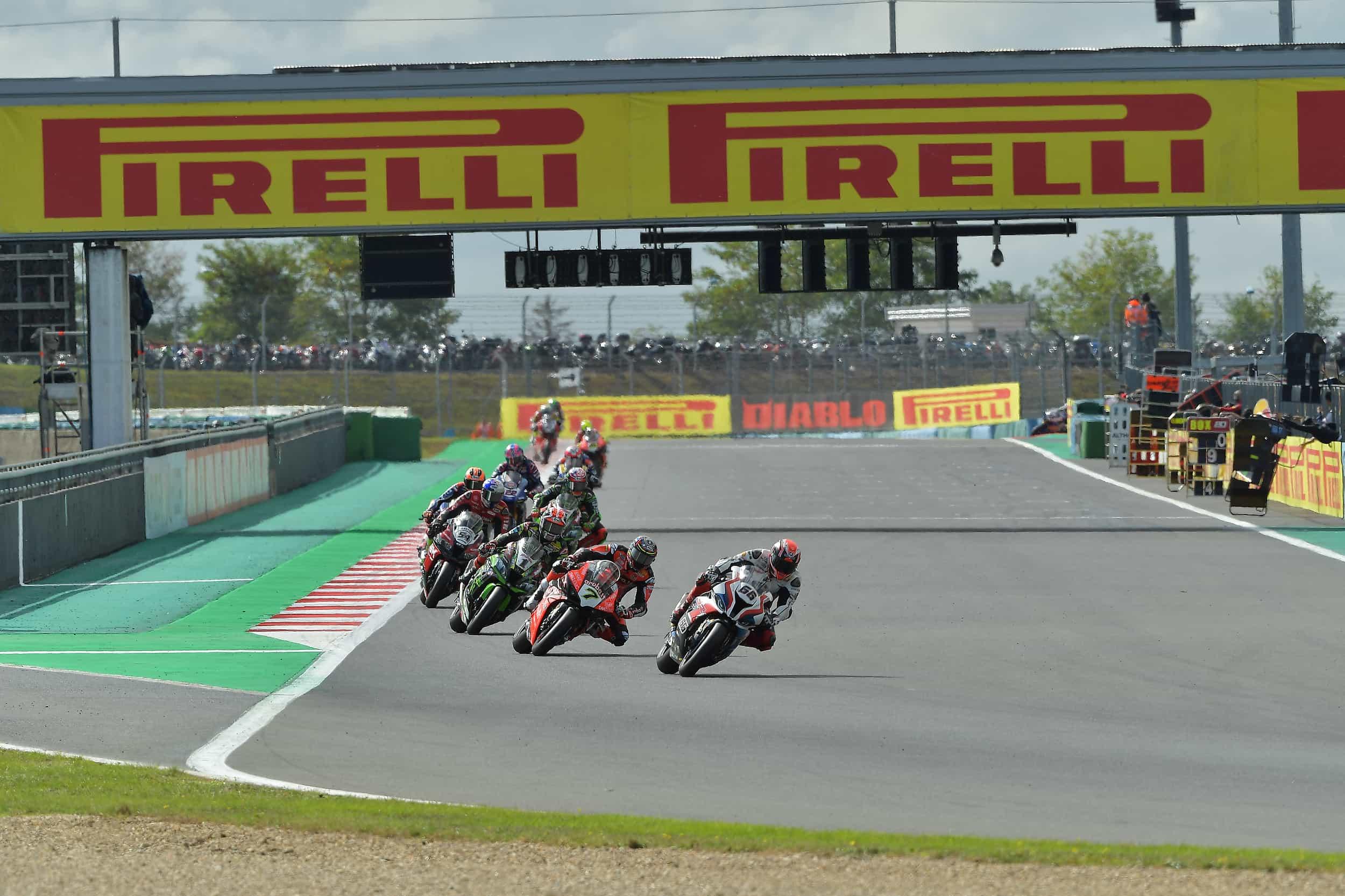 FIM スーパーバイク世界選手権(SBK) イモラ戦中止を受け、再びレースカレンダーを変更