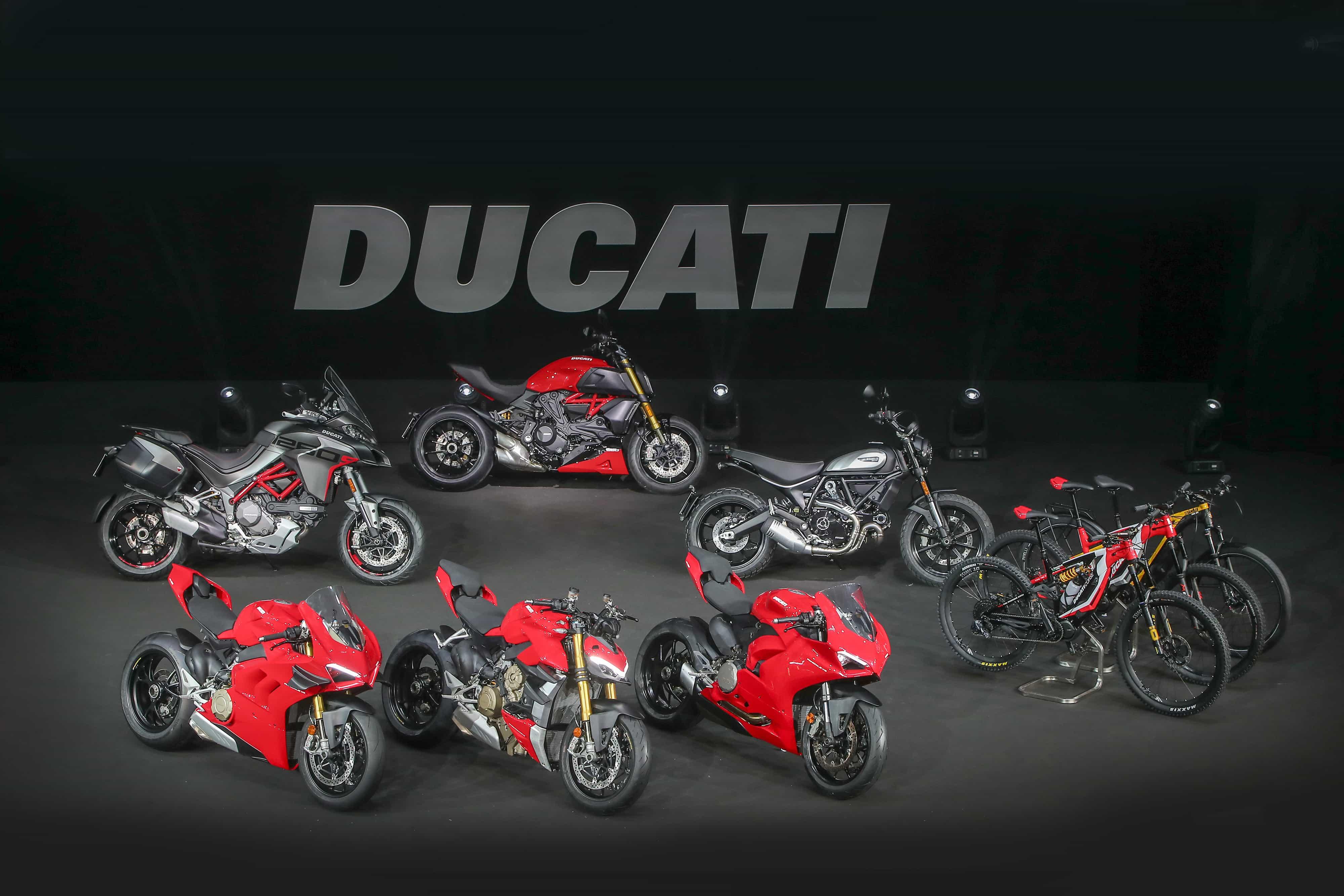 Ducati Ducatiワールドプレミアで2020年の新型車両を公開
