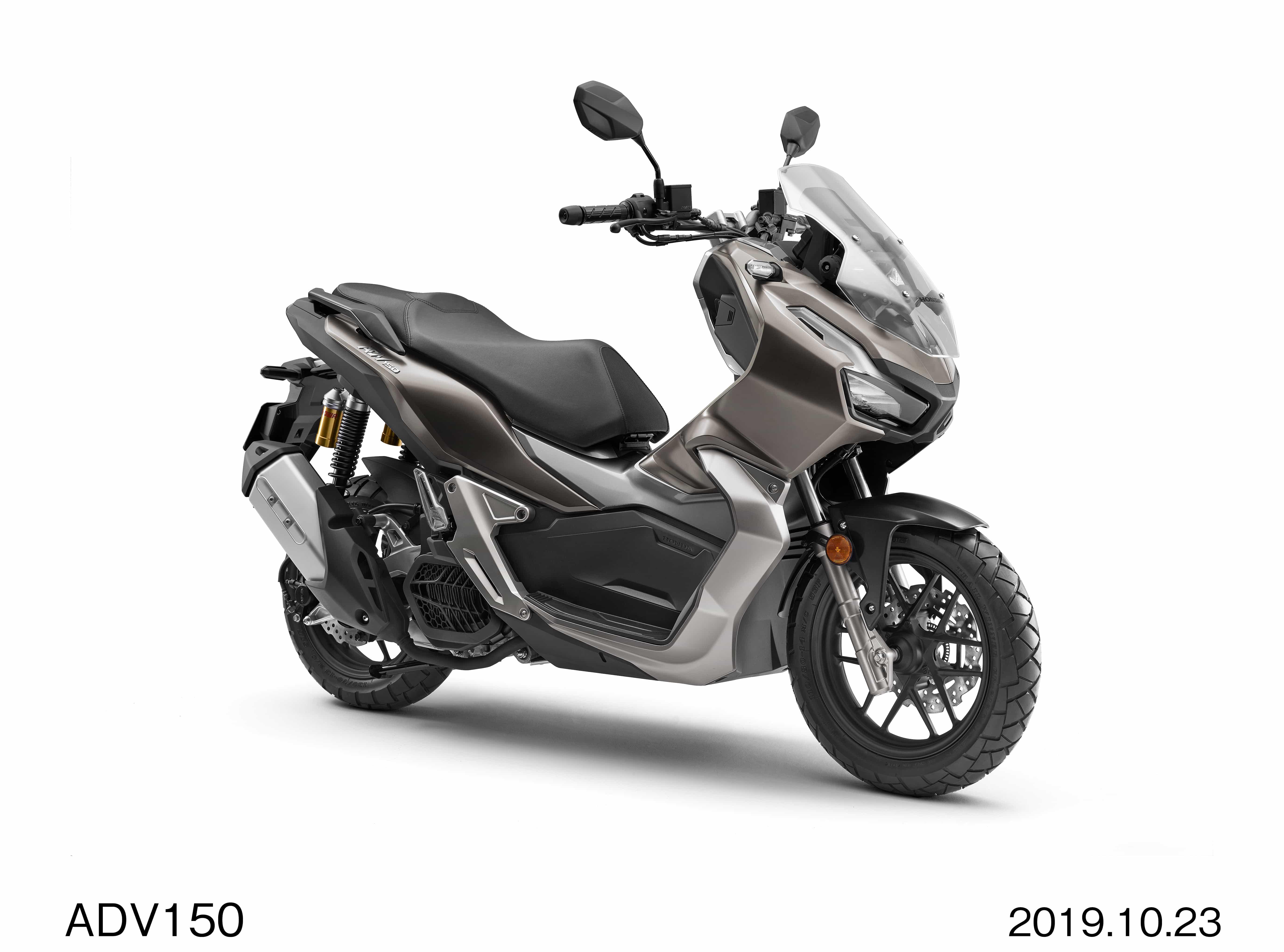 ホンダ 東京モーターショーでADV150を発表