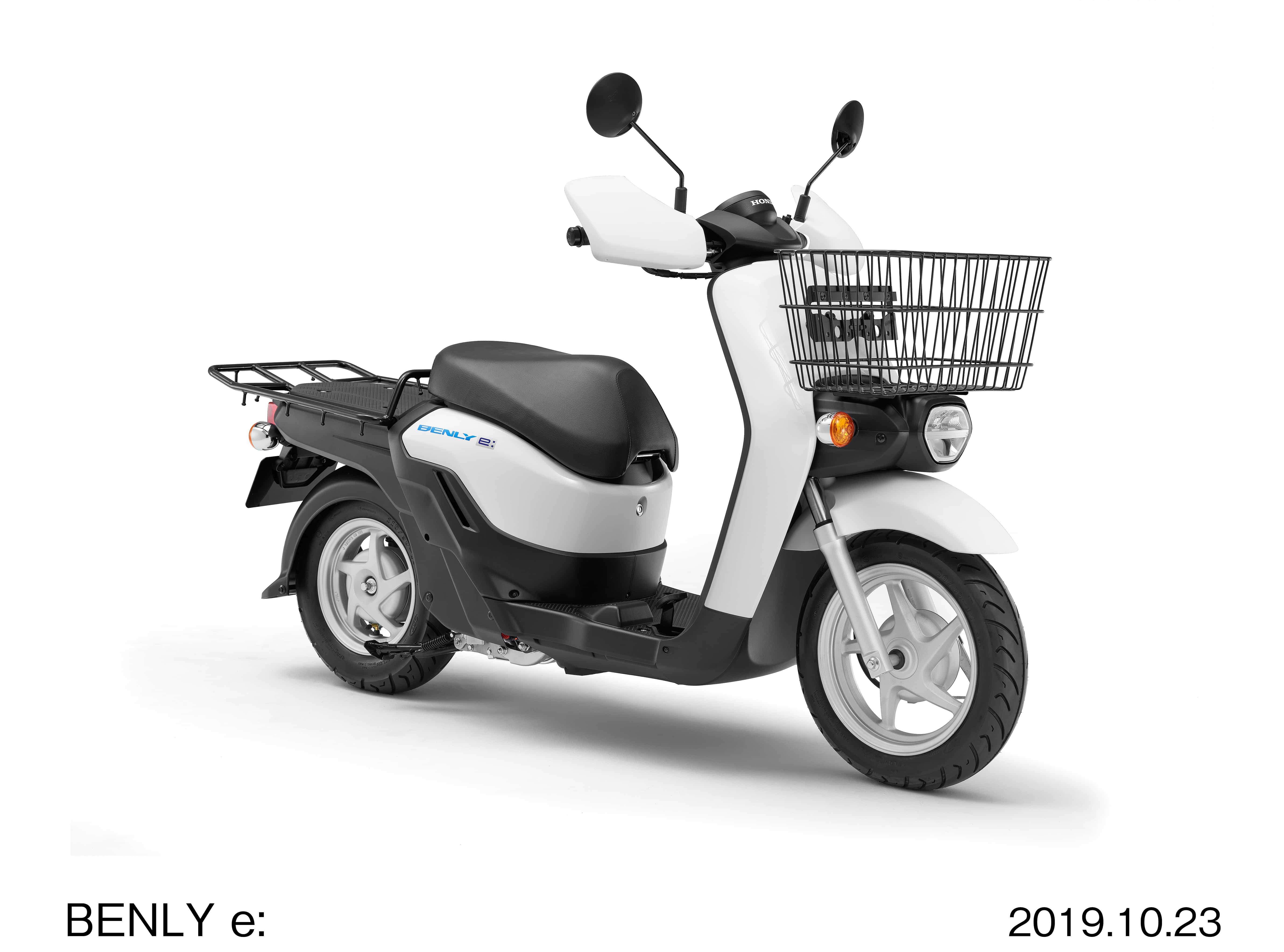 ホンダ 東京モーターショーでBENLY e、GYRO eを発表
