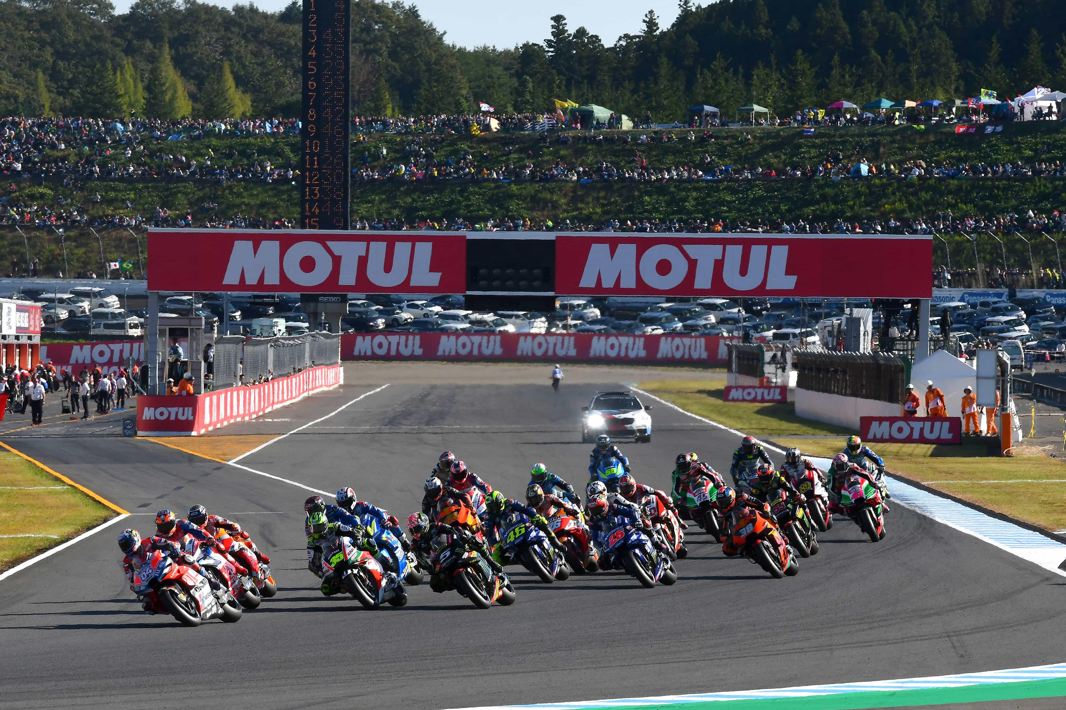 ミシュラン 3週連続レースの初戦となる日本へ