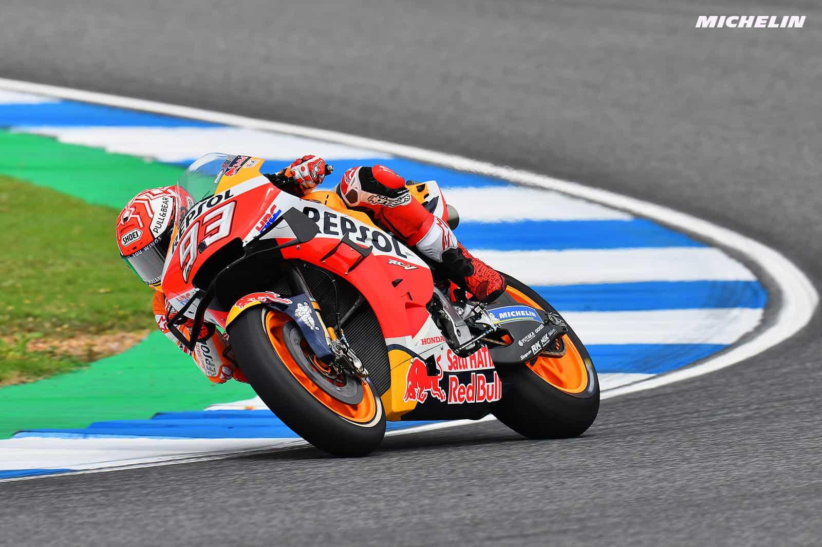 MotoGP2019タイGP FP2  6位マルケス「大事なことは体が無事だということ」