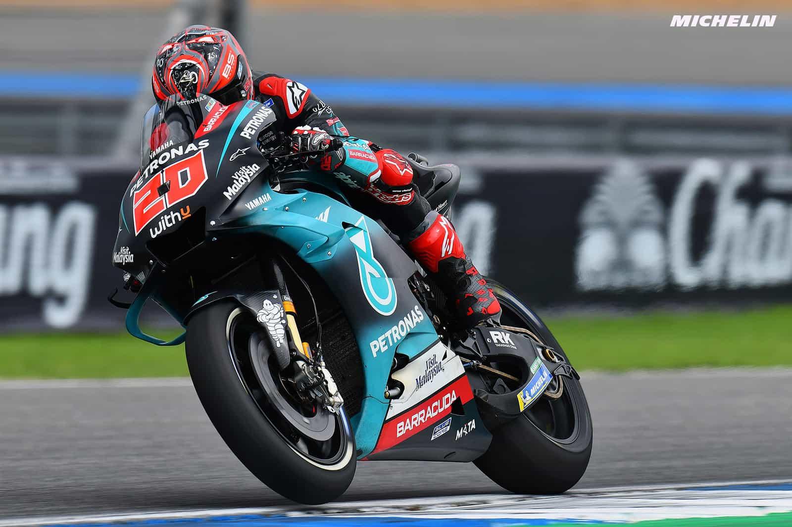 MotoGP2019タイGP FP2 1位ファビオ・クアルタラロ「現時点のパフォーマンスには満足」