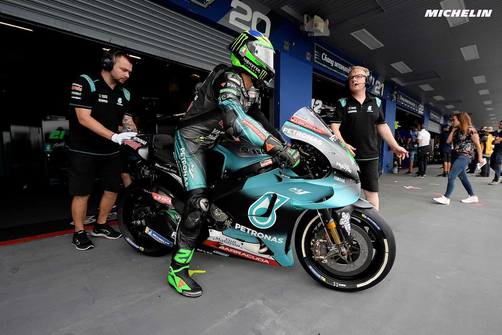 MotoGP2019タイGP FP2 3位モルビデッリ「セクター2トップタイムは驚き」