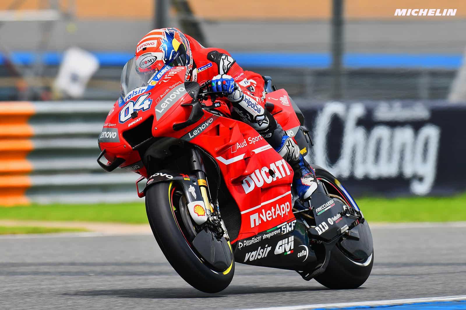 MotoGP2019タイGP FP2 8位ドヴィツィオーゾ「暑さもあって体力面で消耗している」