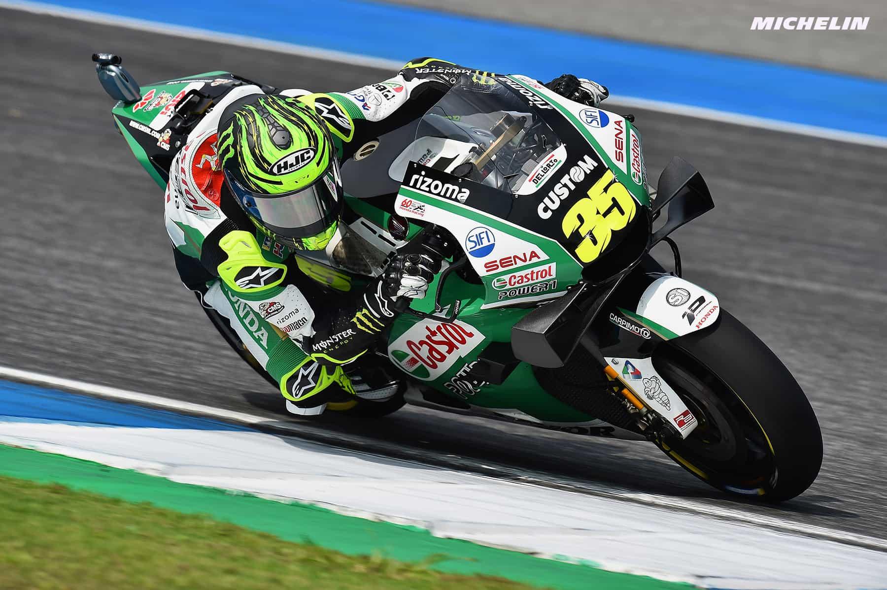 MotoGP2019タイGP 12位クラッチロー「序盤ブレーキに問題があった」