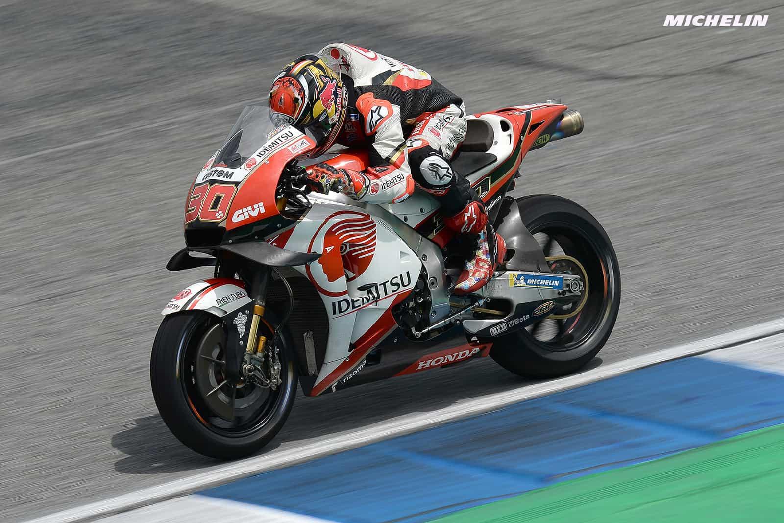 MotoGP2019タイGP 10位中上「トップ10獲得出来たことが嬉しい」