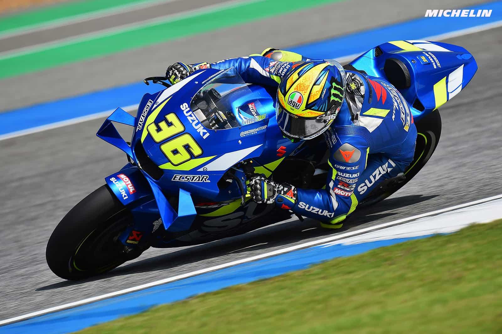 MotoGP2019タイGP 予選8位ミル「8番手からでも良いレースがしたい」