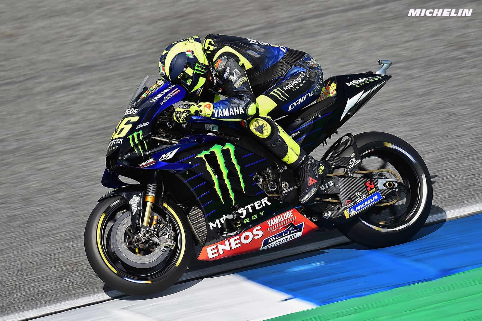 MotoGP2019タイGP 予選9位ロッシ「もう少し良い位置からスタート出来たはず」