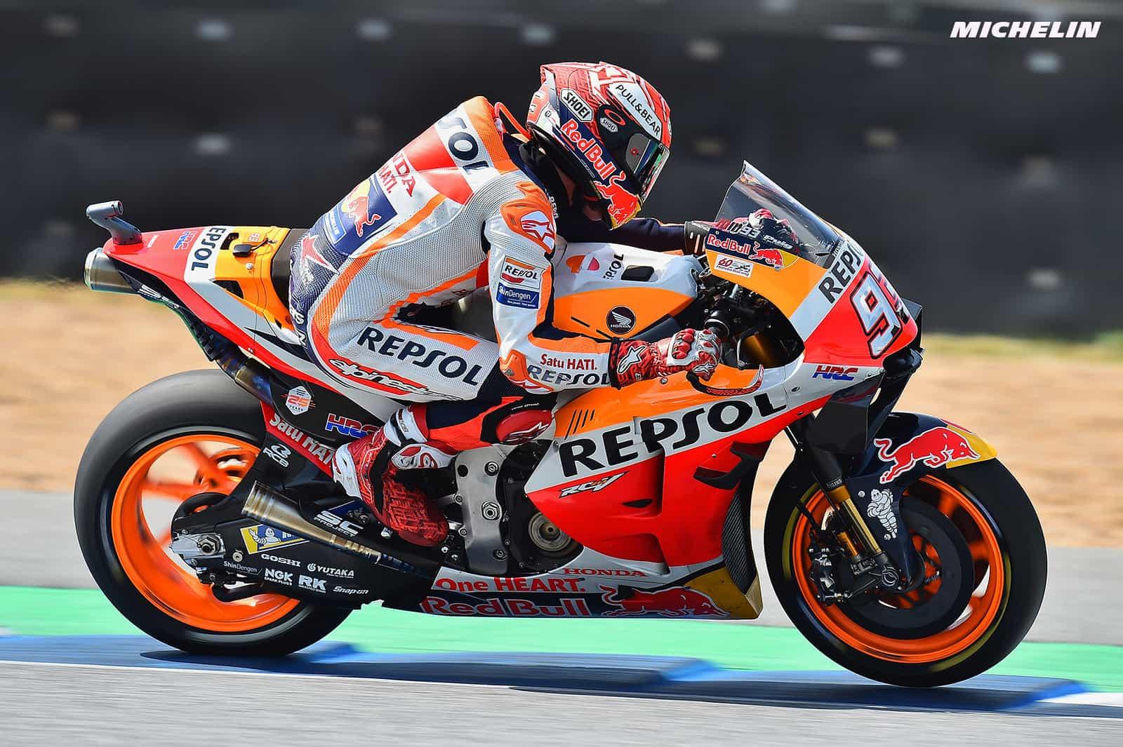 MotoGP2019オーストラリアGP 予選3位マルケス「ヤマハがスピードを発揮しているがベストを尽くす」