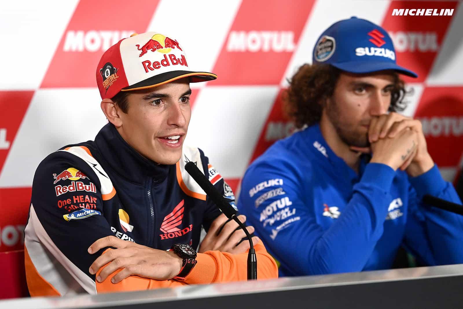 MotoGP2019日本GP マルケス「タイ同様に日曜は優勝を狙っていく」