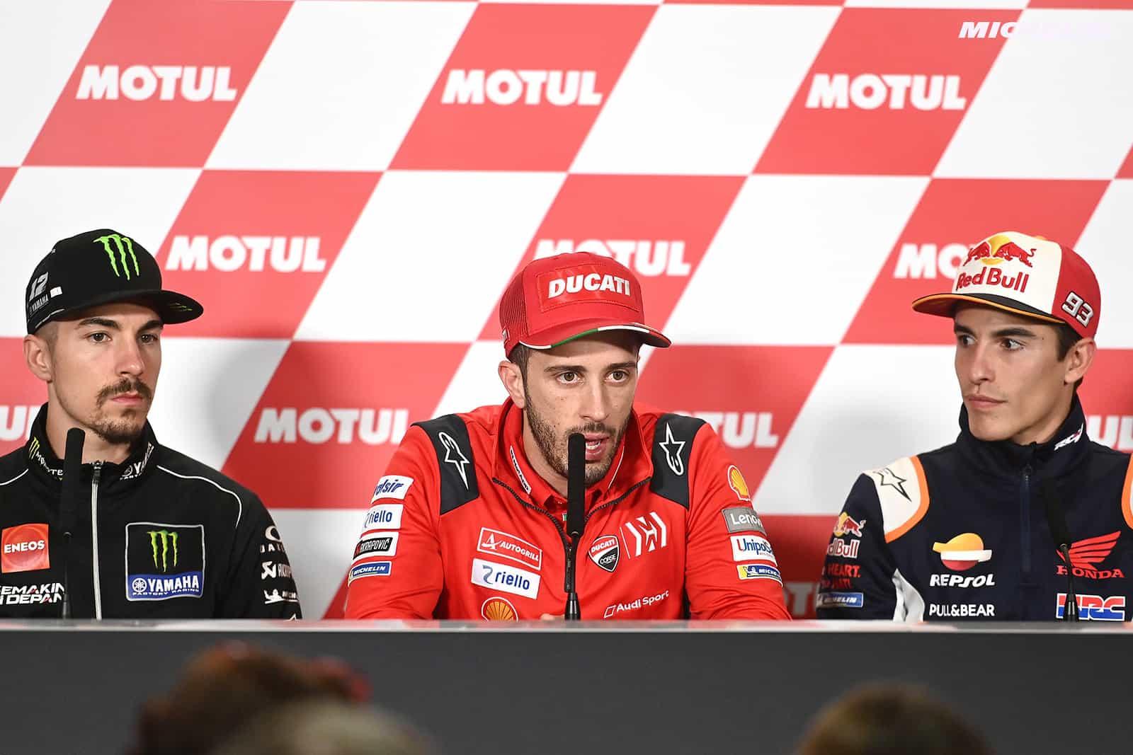 MotoGP2019日本GP ドヴィツィオーゾ「旋回性の改善を引き続き続ける必要がある」