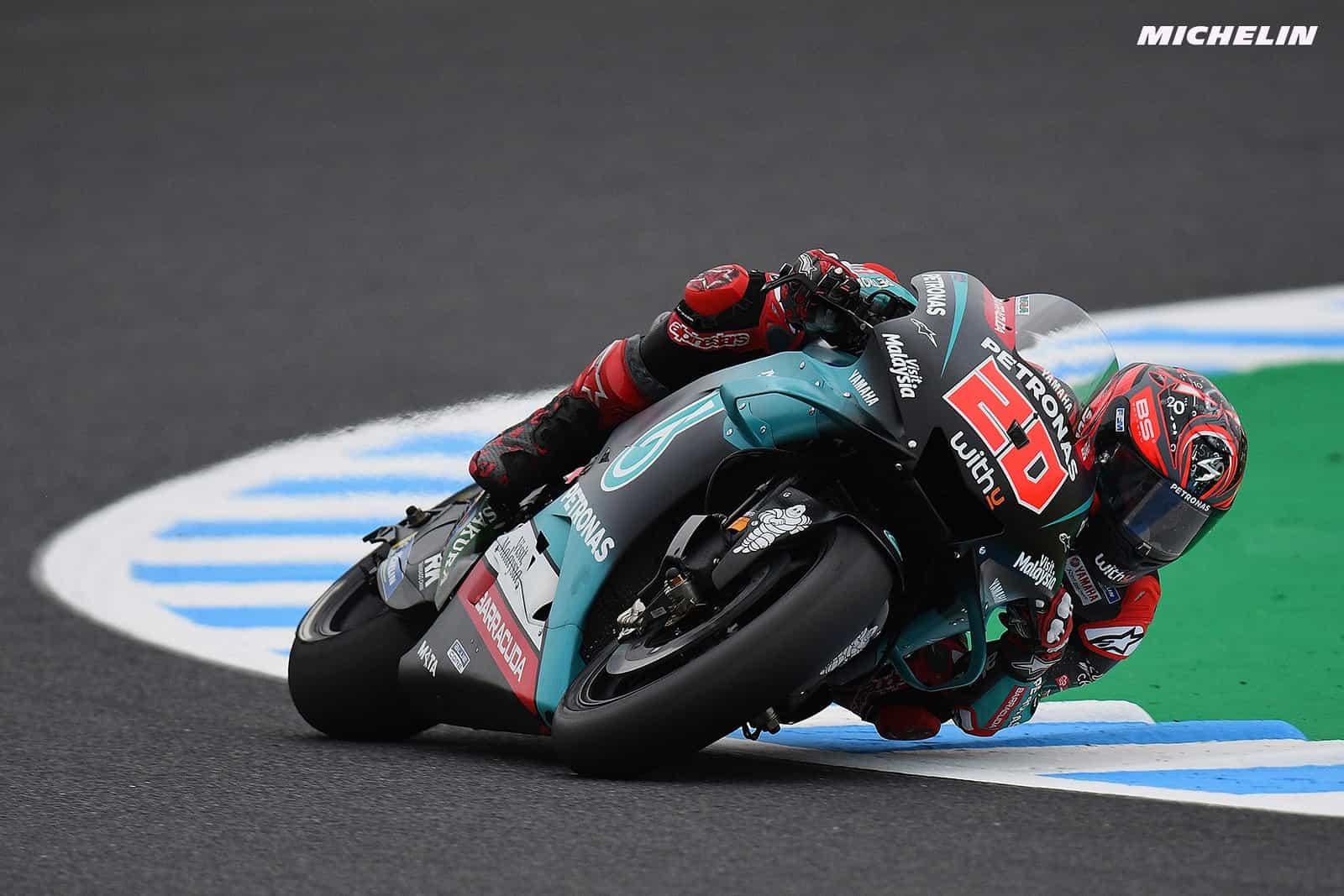 MotoGP2019オーストラリアGP 予選2位クアルタラロ「既にタイヤチョイスは決まっている」