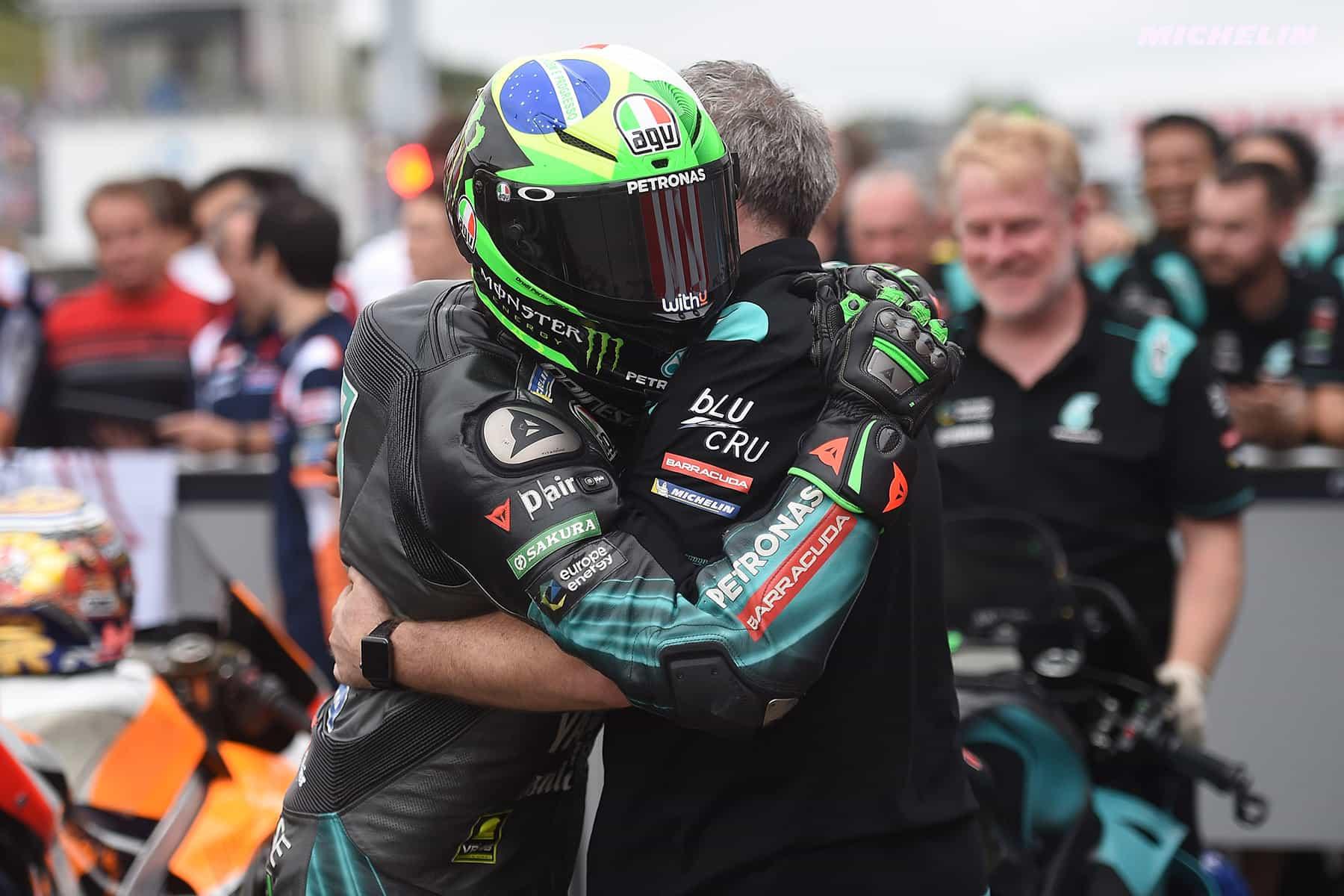 MotoGP2019日本GP 予選2位モルビデッリ「ファビオの速さはヤマハ全員にとってのモチベーション」